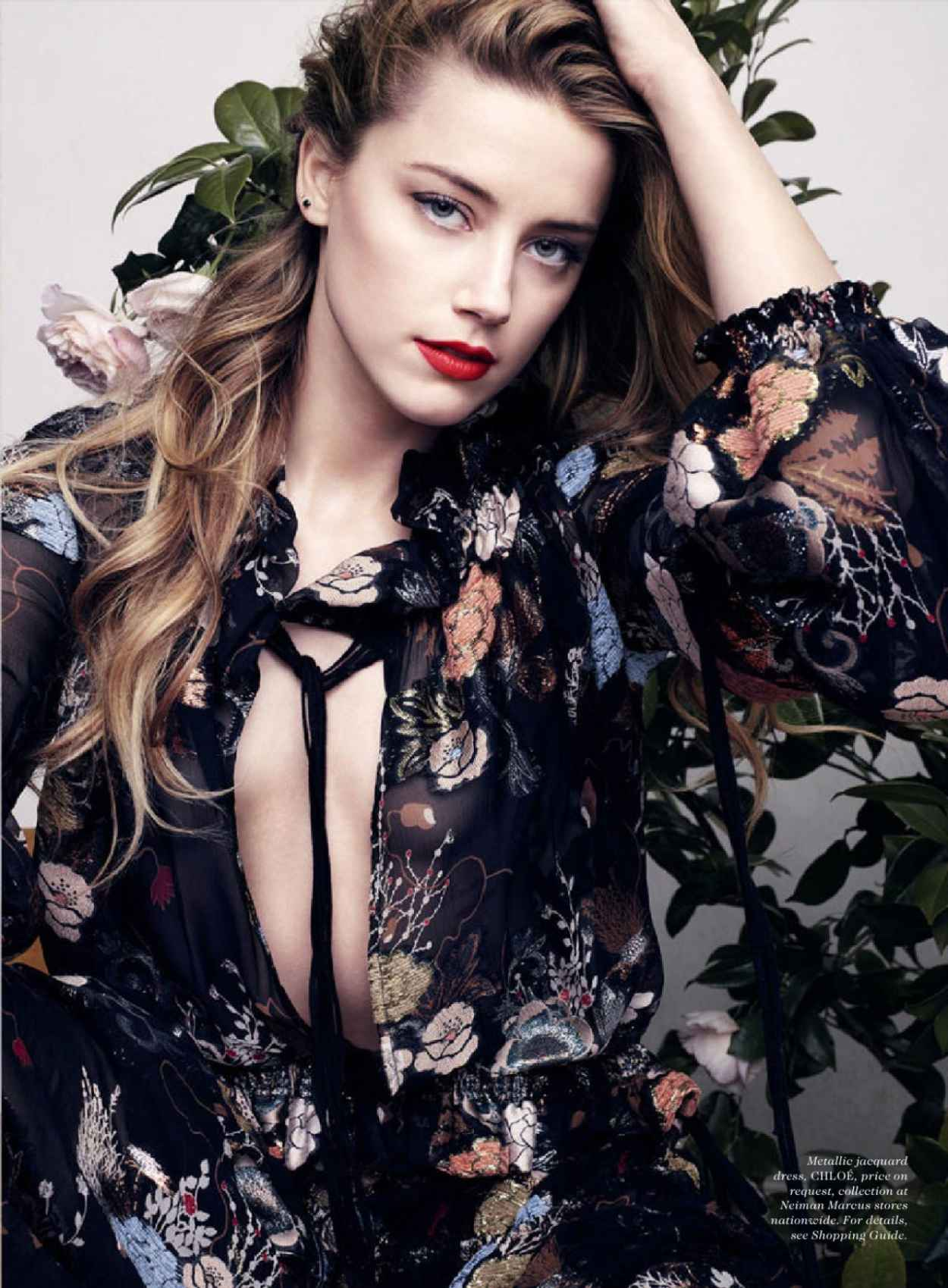 Amber Heard - Elle Magazine July 2015 Issue and Photos-2