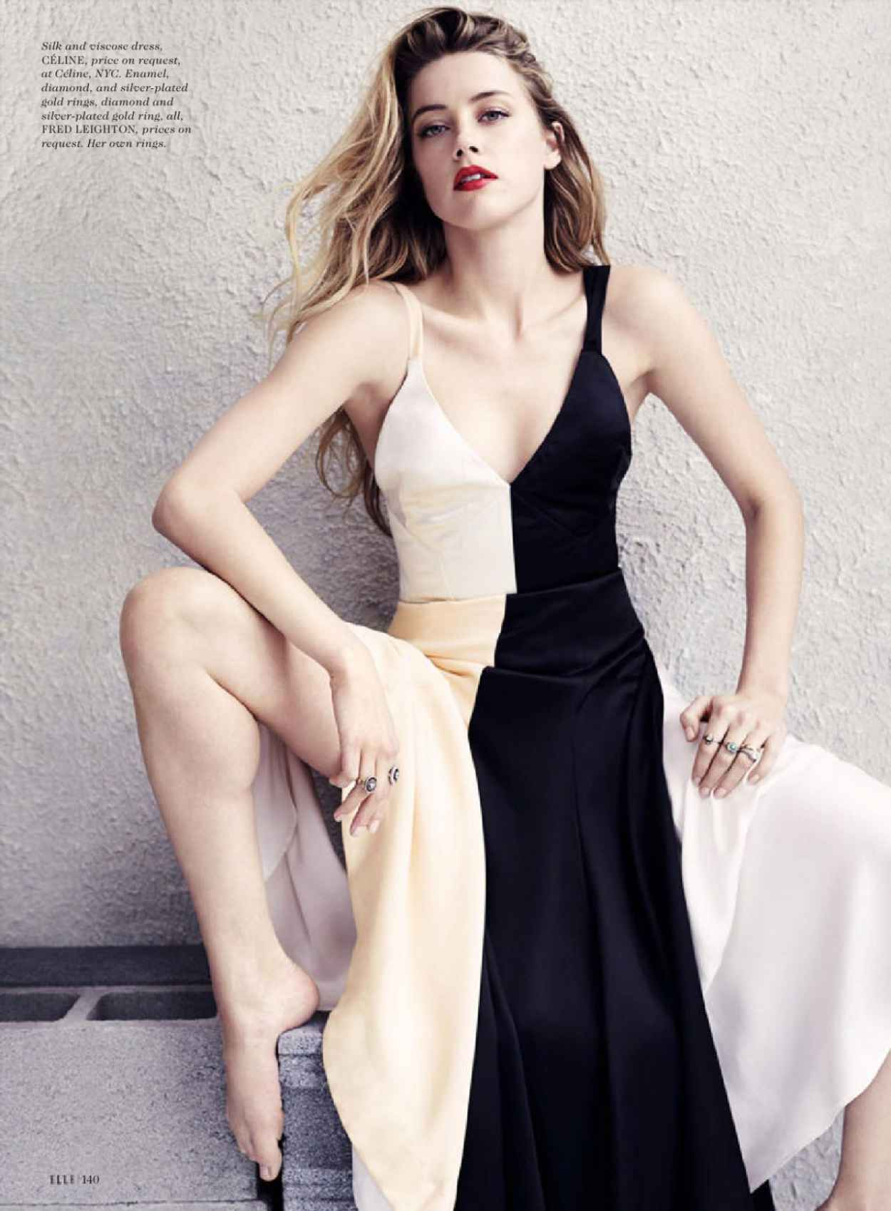 Amber Heard - Elle Magazine July 2015 Issue and Photos-4
