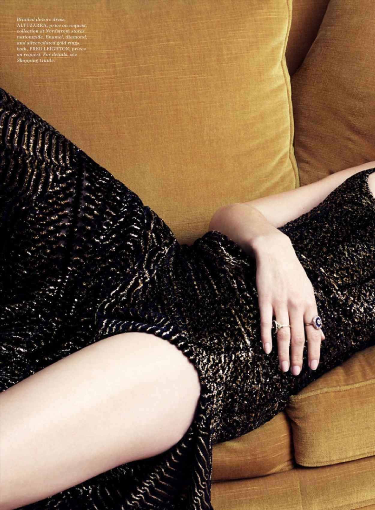 Amber Heard - Elle Magazine July 2015 Issue and Photos-5