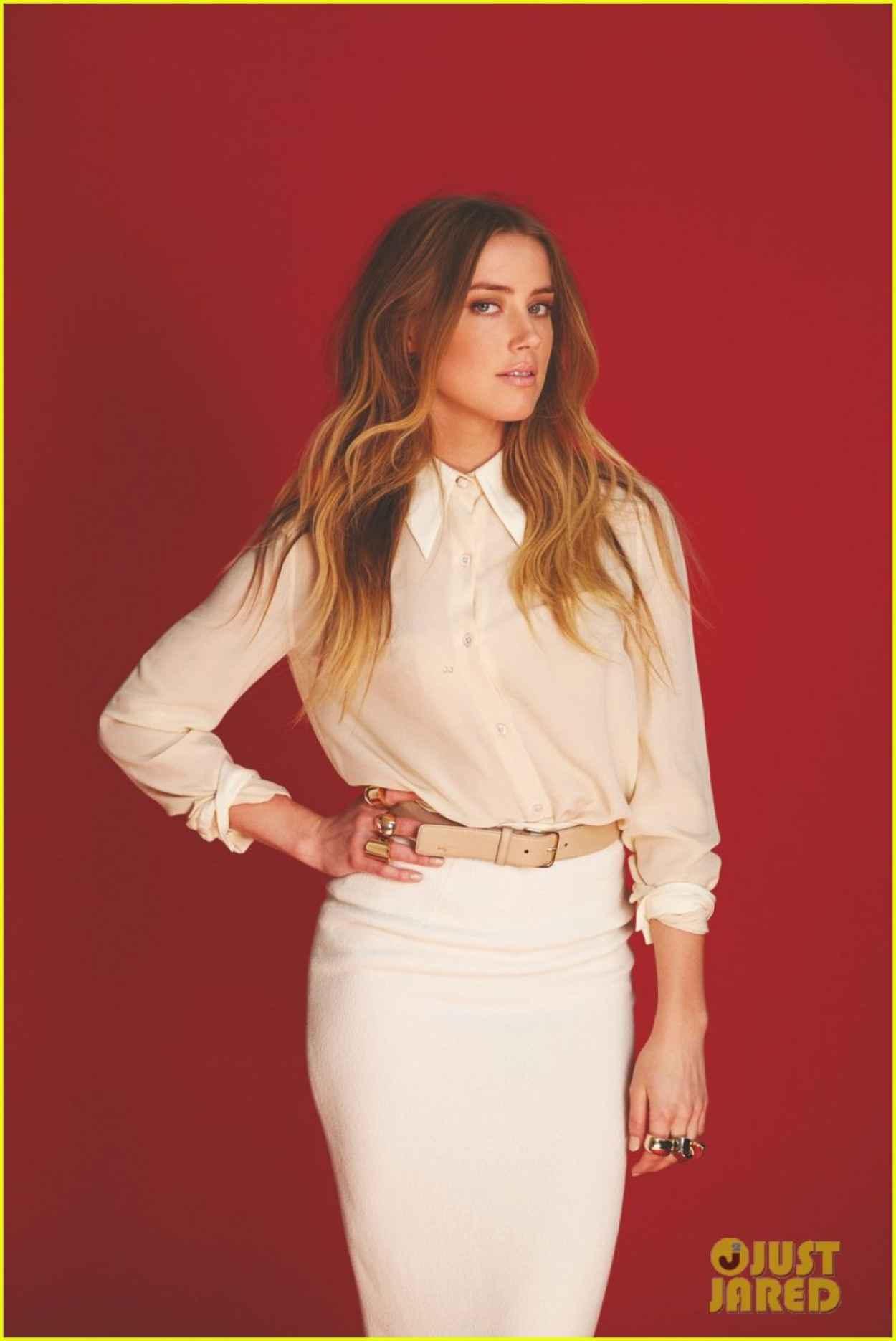 Amber Heard - FLARE Magazine - September 2015-1
