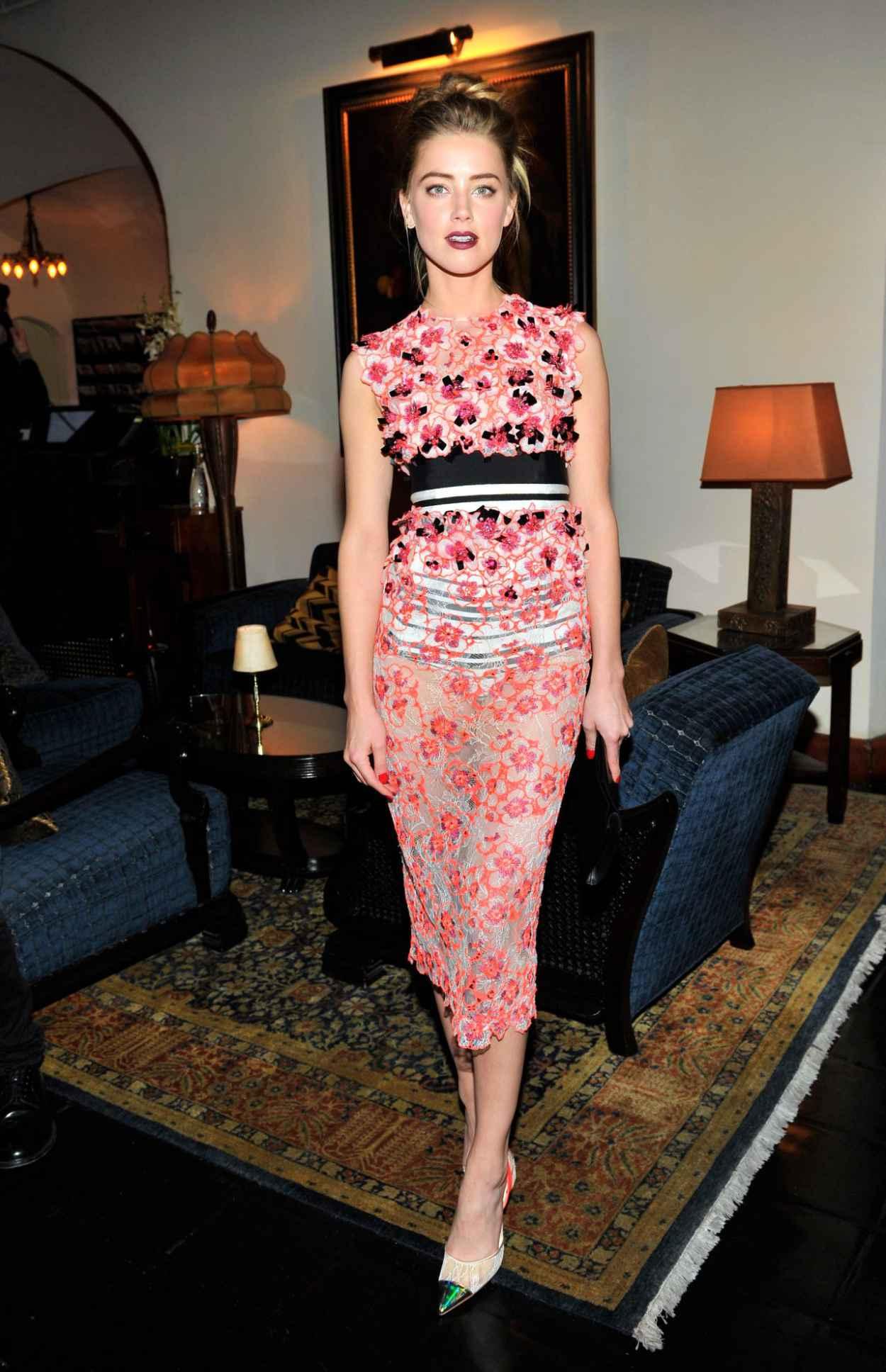 Amber Heard - MAC and Vogue Celebrate Giambattista Valli in Los Angeles (2014)-1