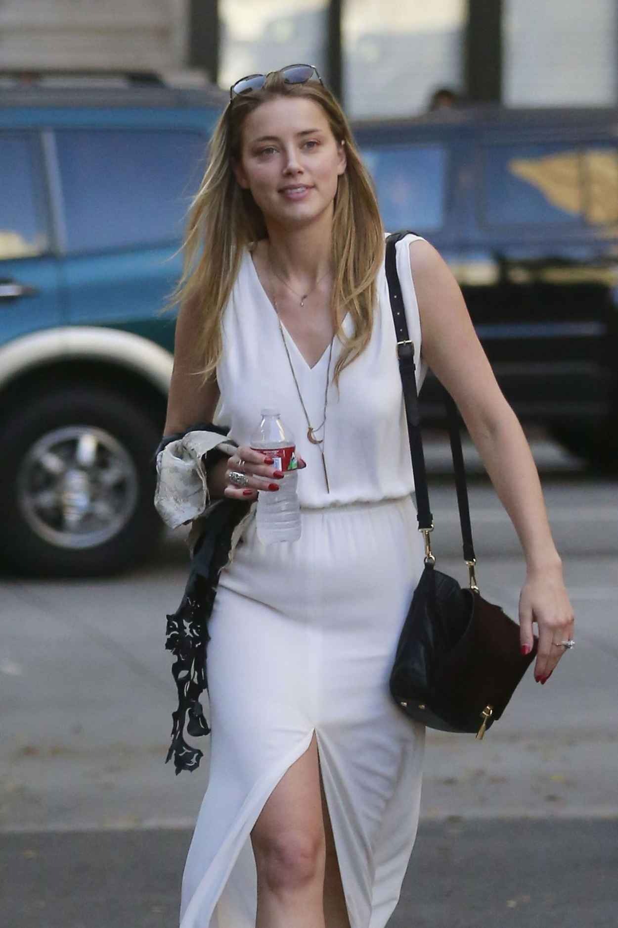 Amber Heard - Out in Los Angeles, August 2015-1