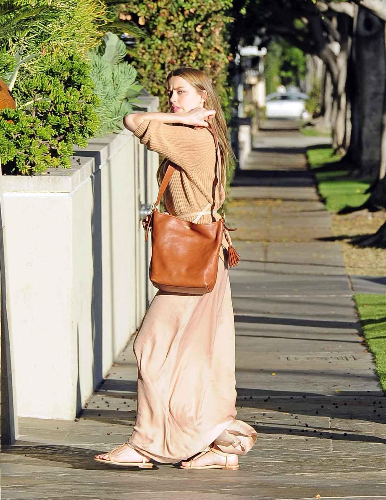 Amber Heard Street Style - Beverly Hills-1