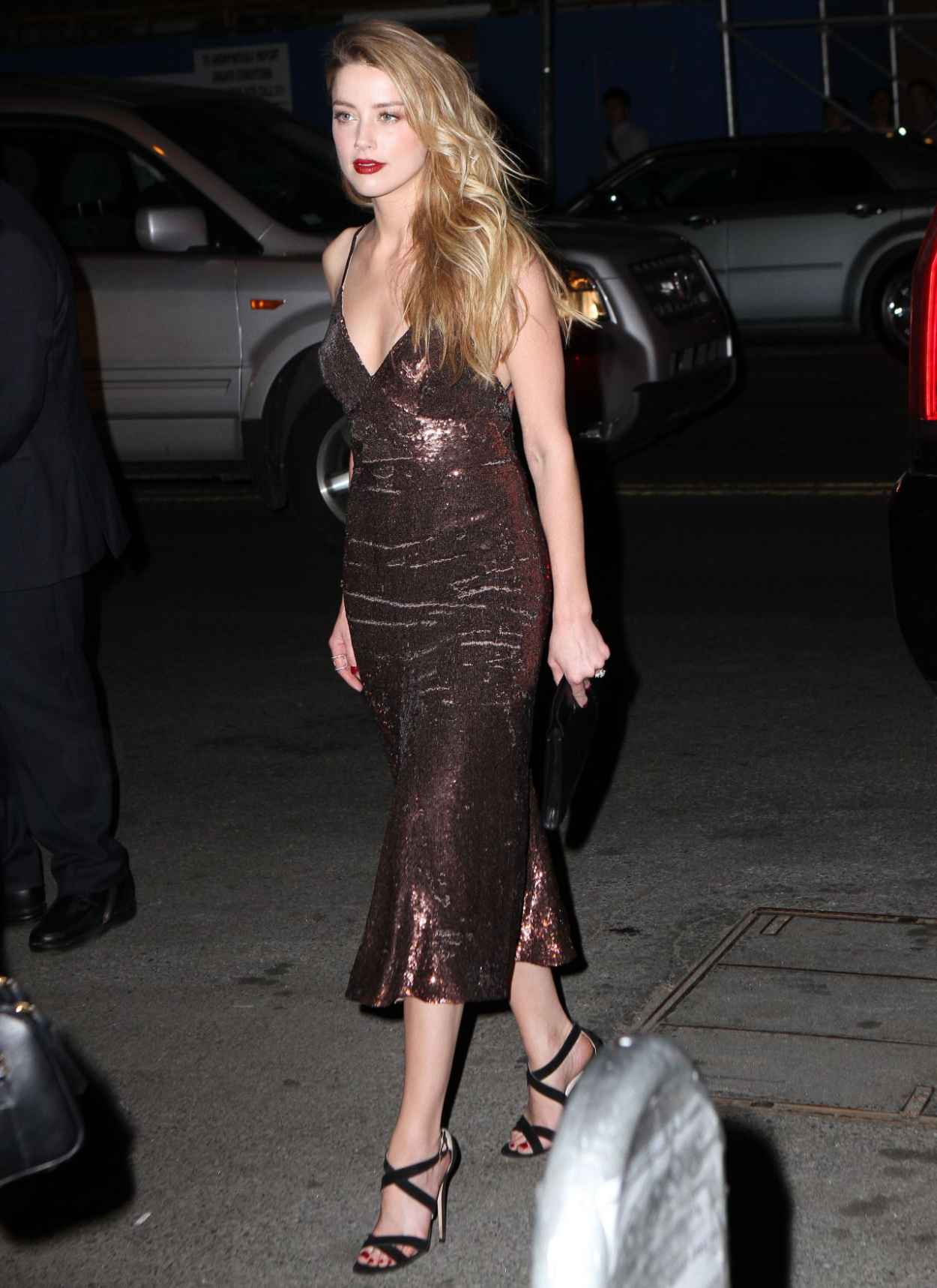 Amber Heard Style - New York City, April 2015-2