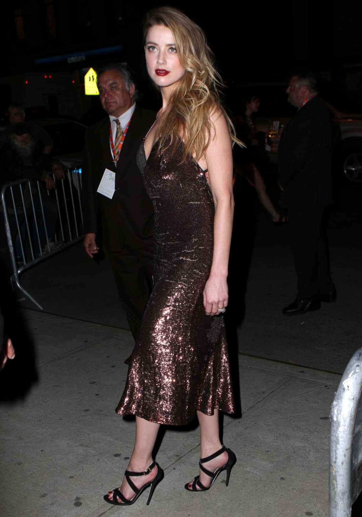 Amber Heard Style - New York City, April 2015-4