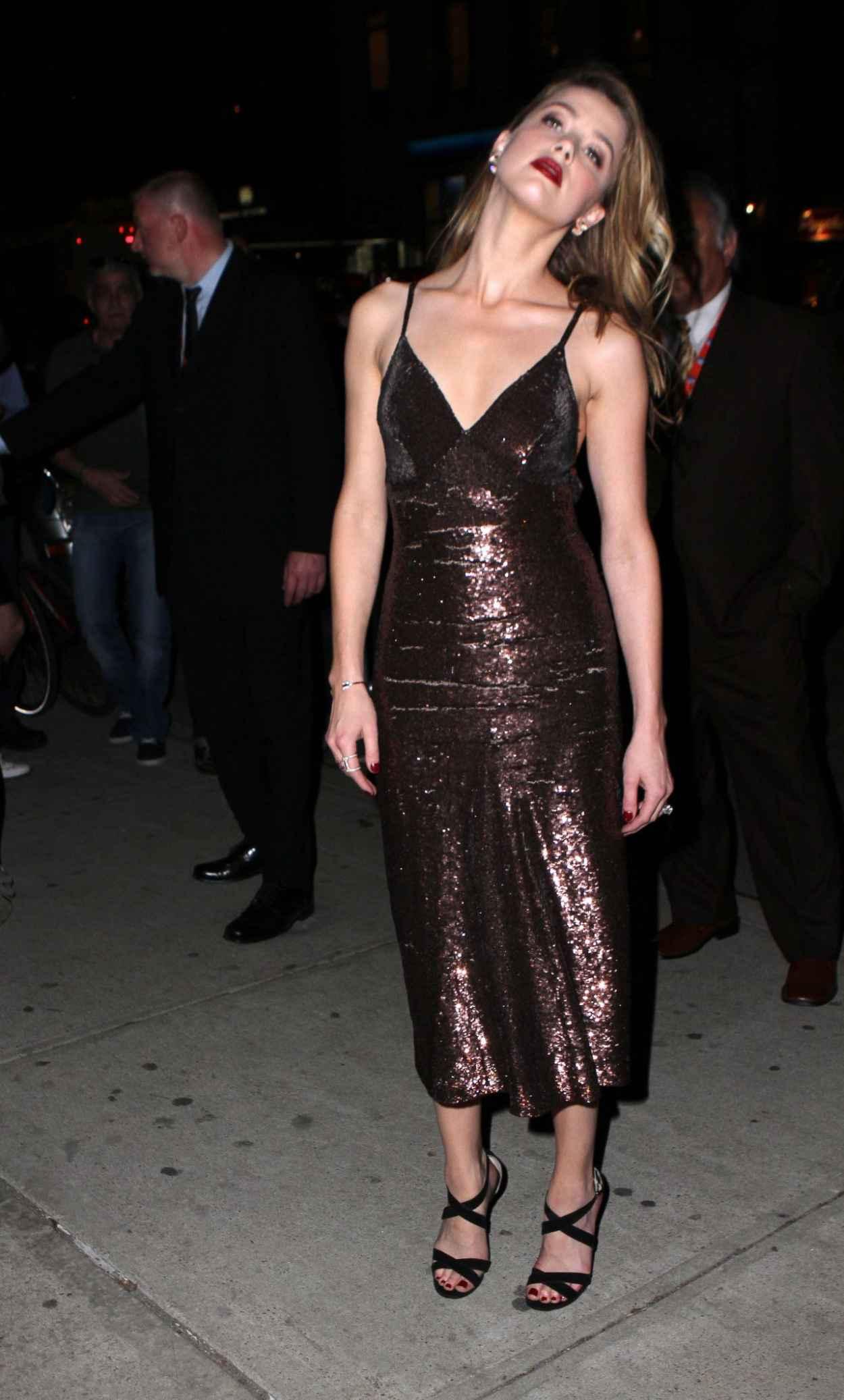 Amber Heard Style - New York City, April 2015-5