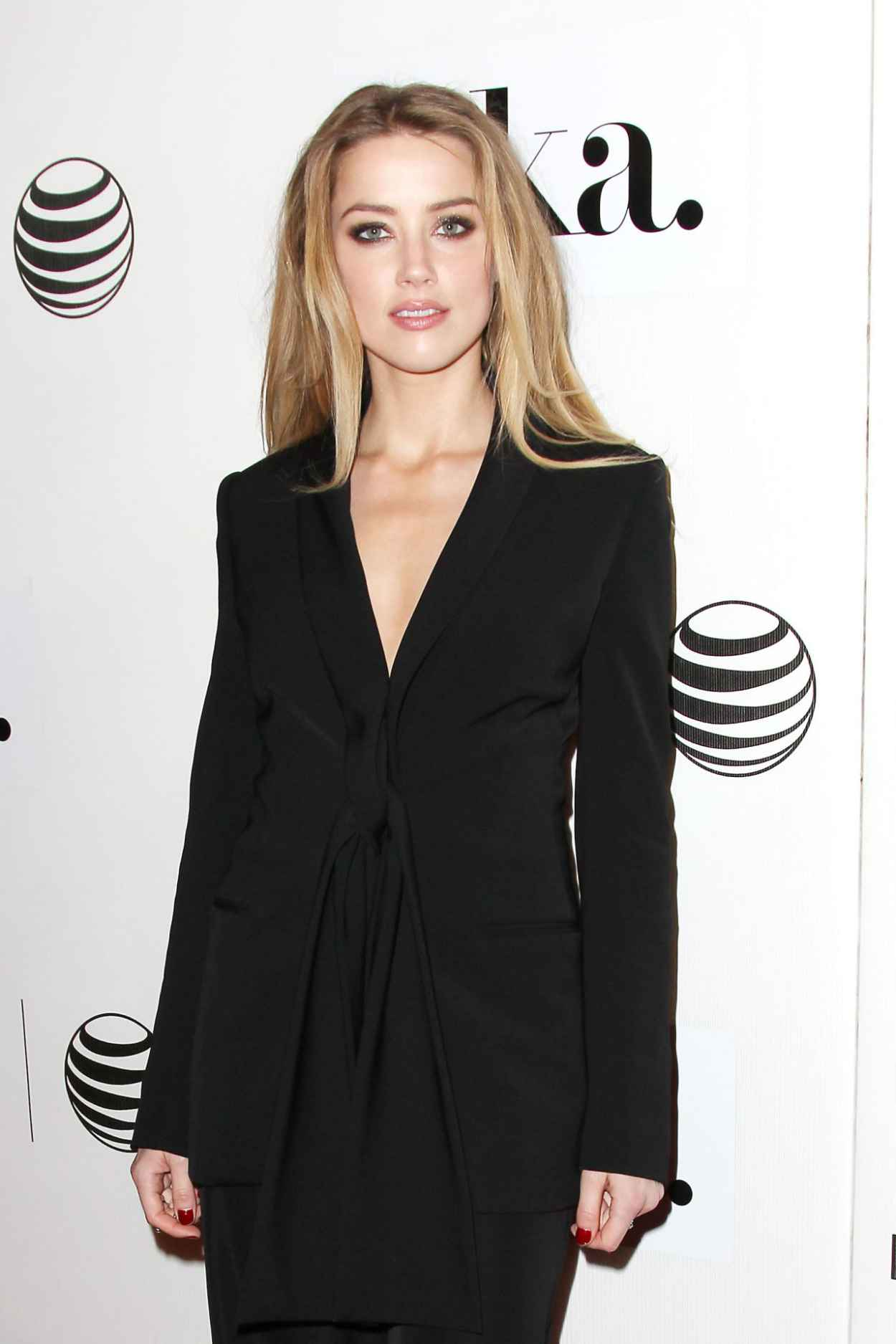 Amber Heard - The Adderall Diaries Premiere in New York City-3