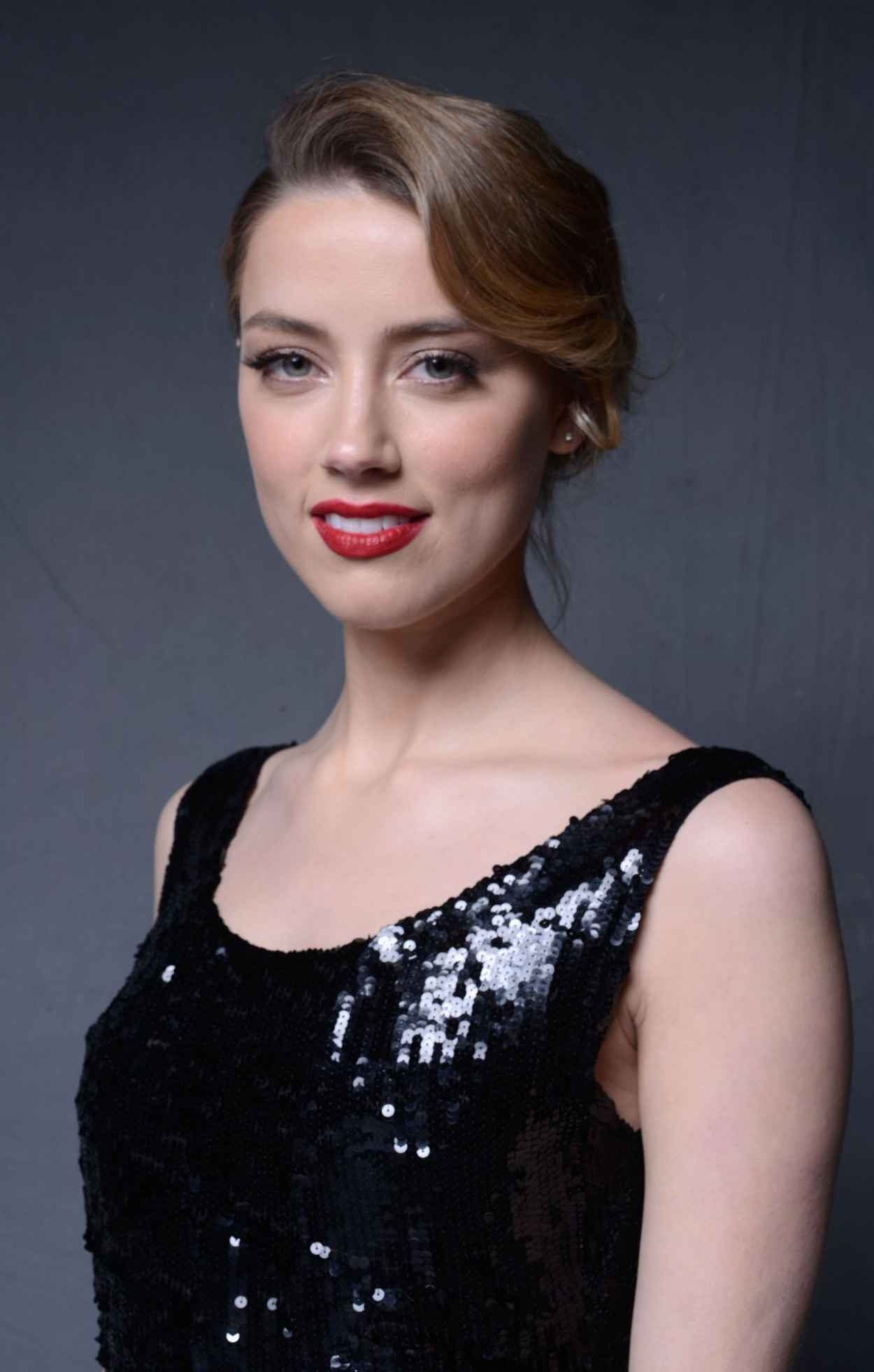 Amber Heard - The Art of Elysiums 7th Annual HEAVEN Gala Portraits by Jeff Vespa, January 2015-1
