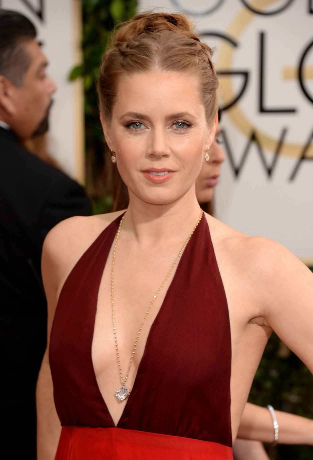 Amy Adams In Valentino at 71st Annual Golden Globe Awards in Beverly Hills (2014)-1