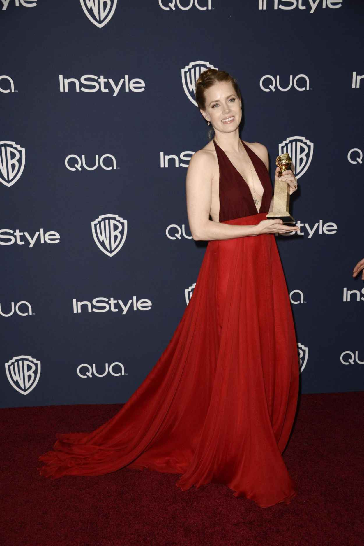 Amy Adams - InStyle & Warner Bros. 2015 Golden Globe Awards Post-Party-1