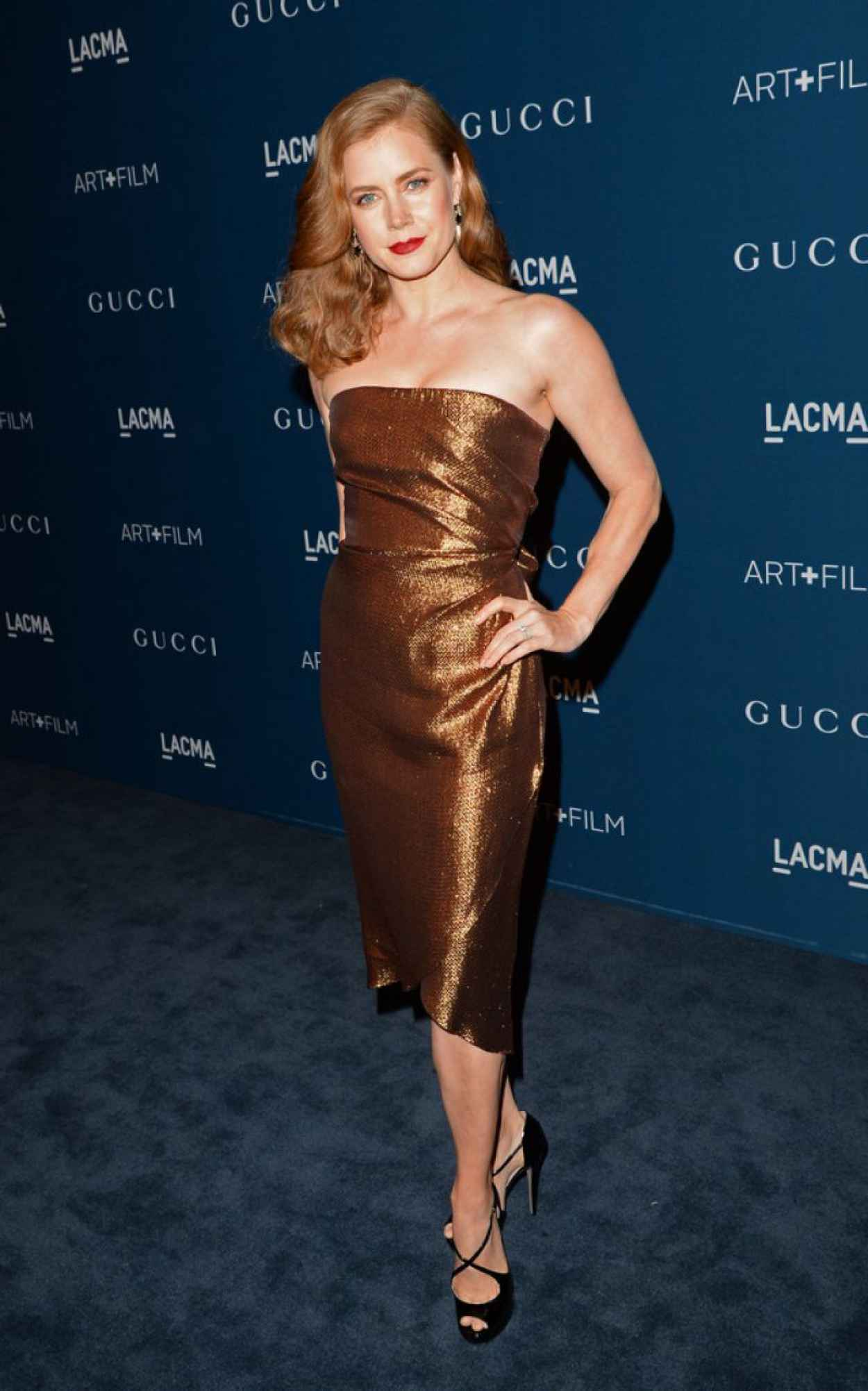 Amy Adams on Red Carpet - 2015 LACMA Art anc Film Gala in Los Angeles-1