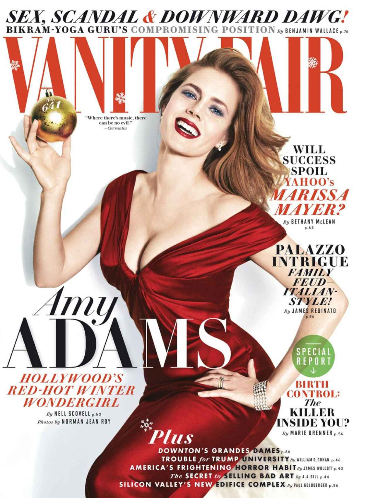 Amy Adams - VANITY FAIR Magazine - January 2015 Issue - N. J. R. Photoshoot-1
