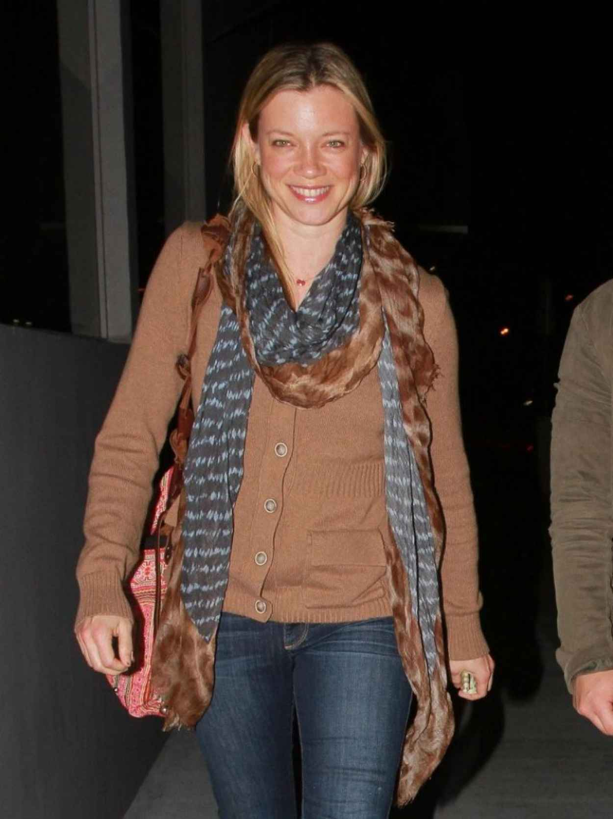 Amy Smart Night Out Style - Out in Los Angeles, February 2015-1
