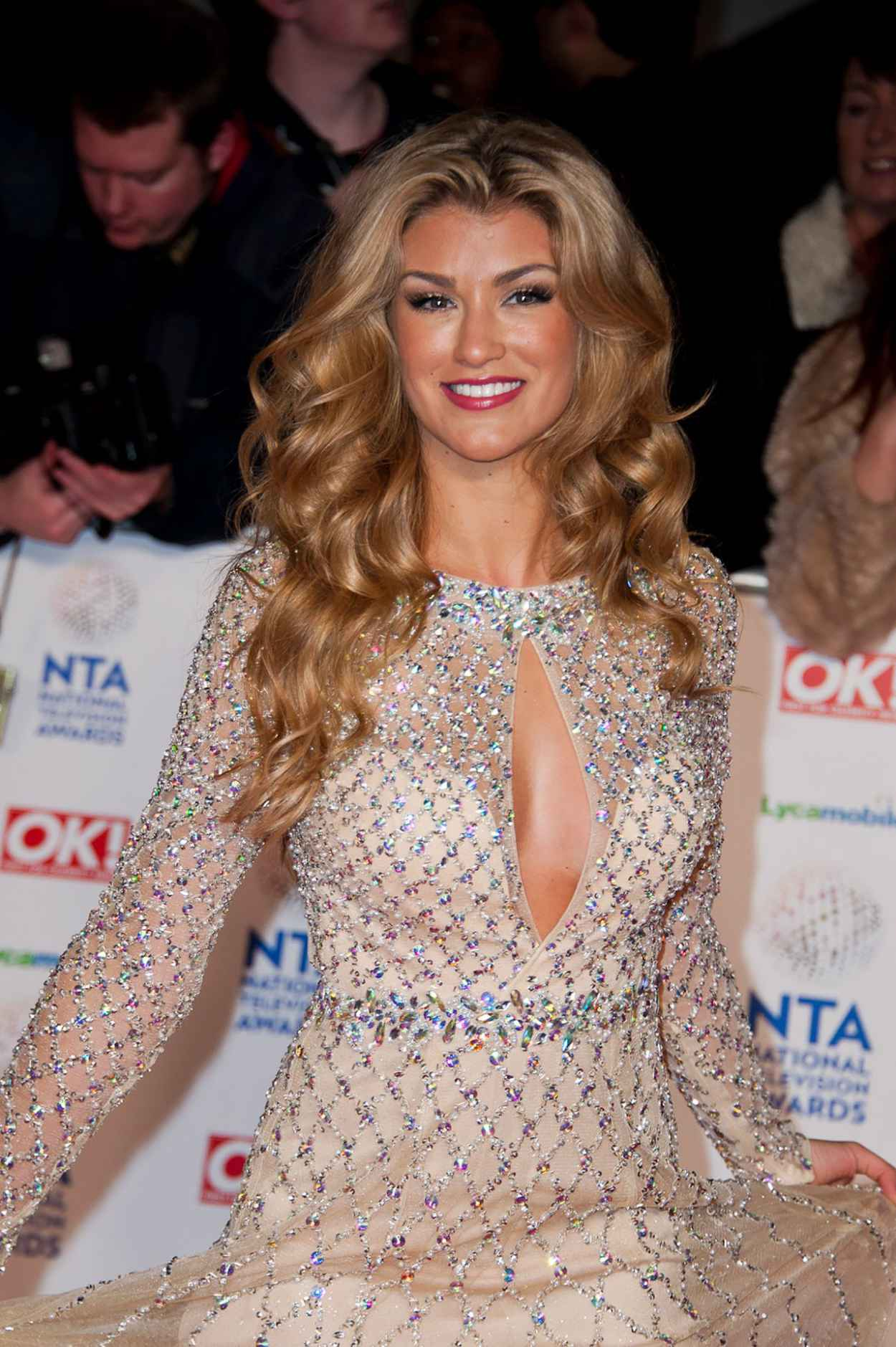 Amy Willerton - National Television Awards London, January 2015-1
