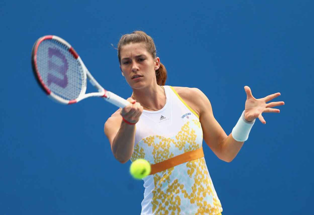 Andrea Petkovic - Australian Open - January 16, 2015-1