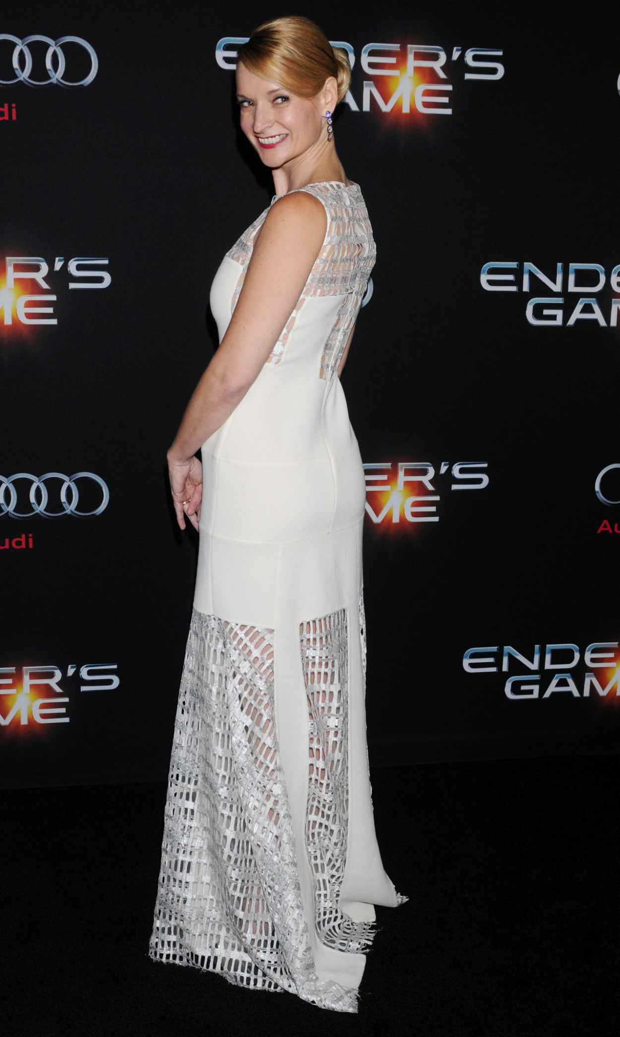 Andrea Powell Red Carpet Photos - ENDER-S GAME Movie-1