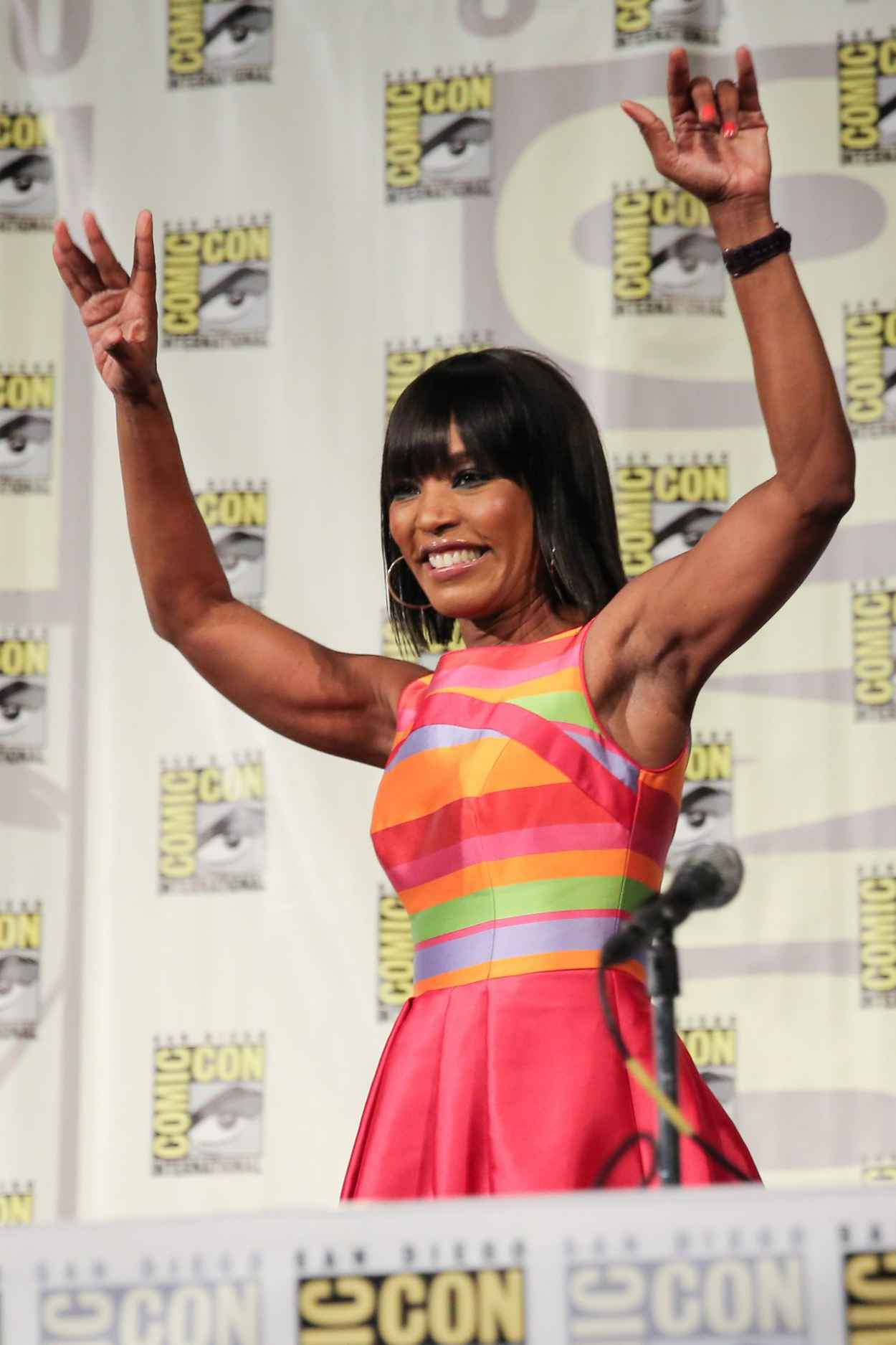 Angela Bassett - American Horror Story: Coven SDCC 2015 Panel-1