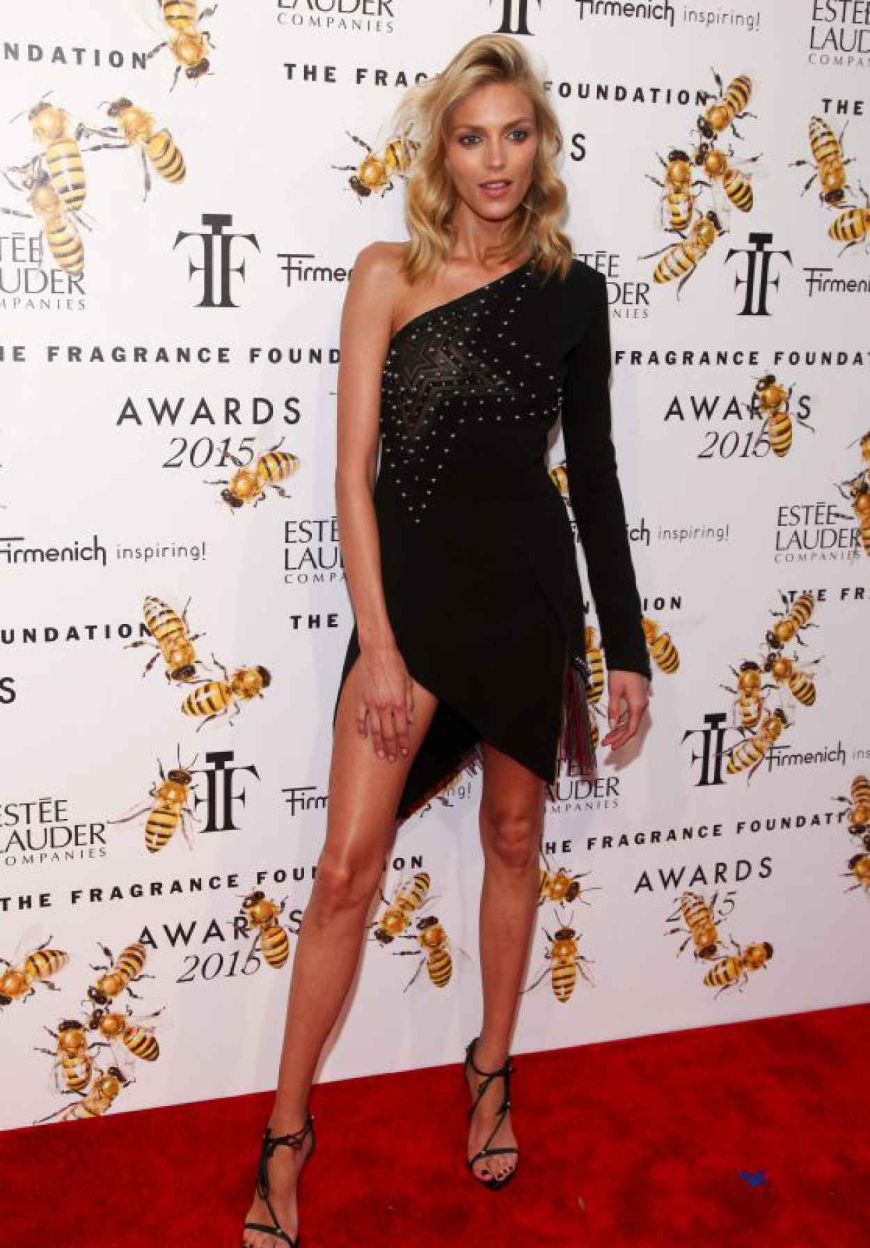 Anja Rubik - 2015 Fragrance Foundation Awards at Alice Tully Hall-1