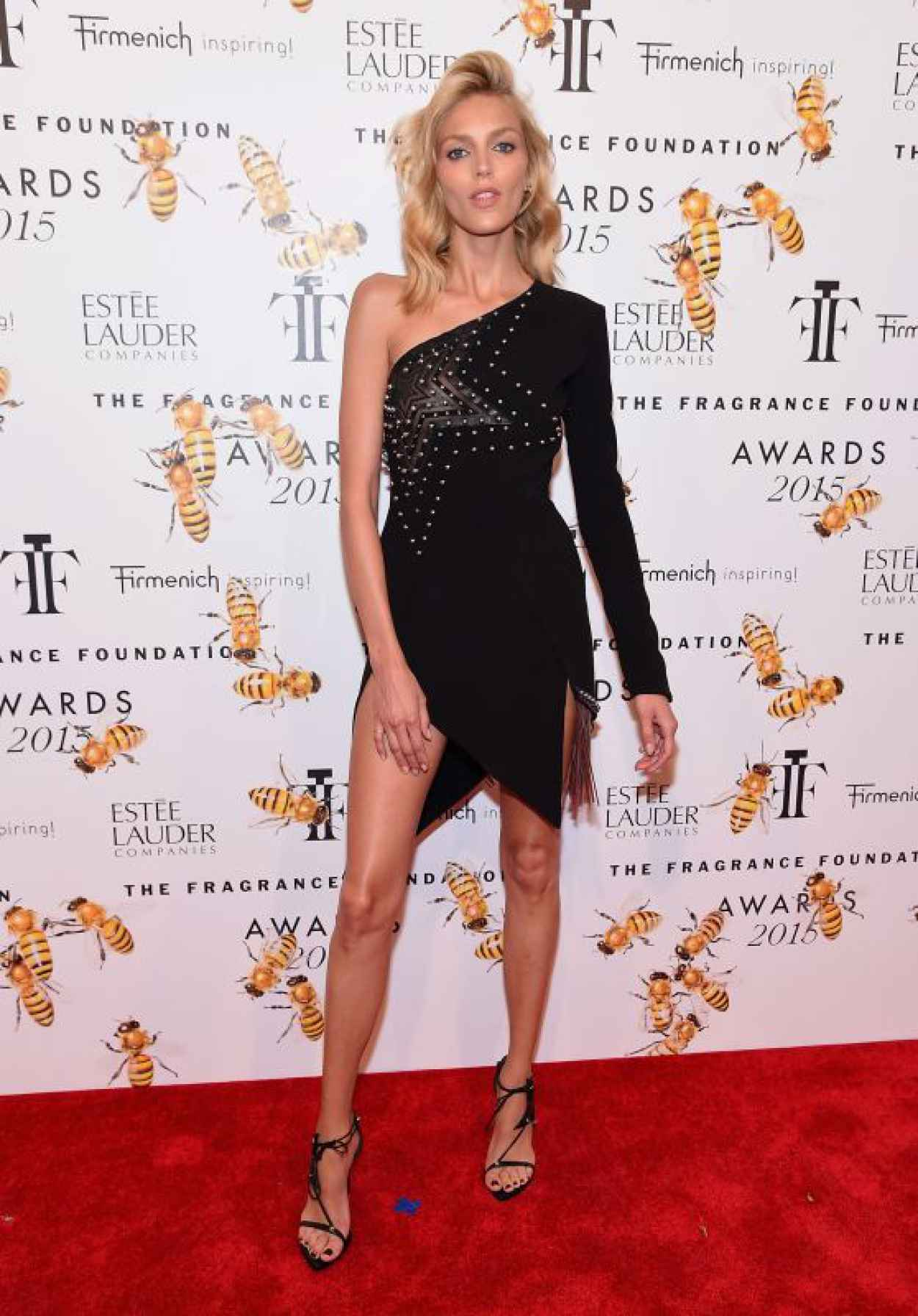 Anja Rubik - 2015 Fragrance Foundation Awards in NYC-1
