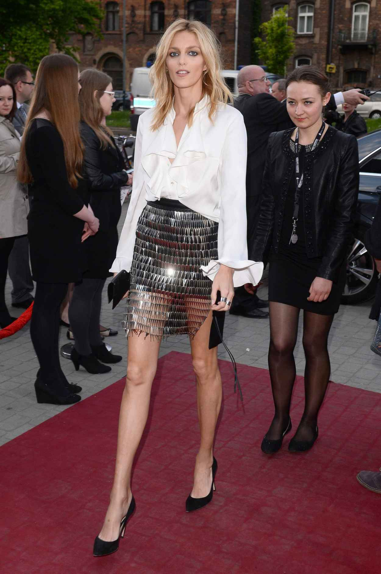 Anja Rubik - Arrive to Closing Ceremony PKO Off Camera in Krakow in Poland, May 2015-3