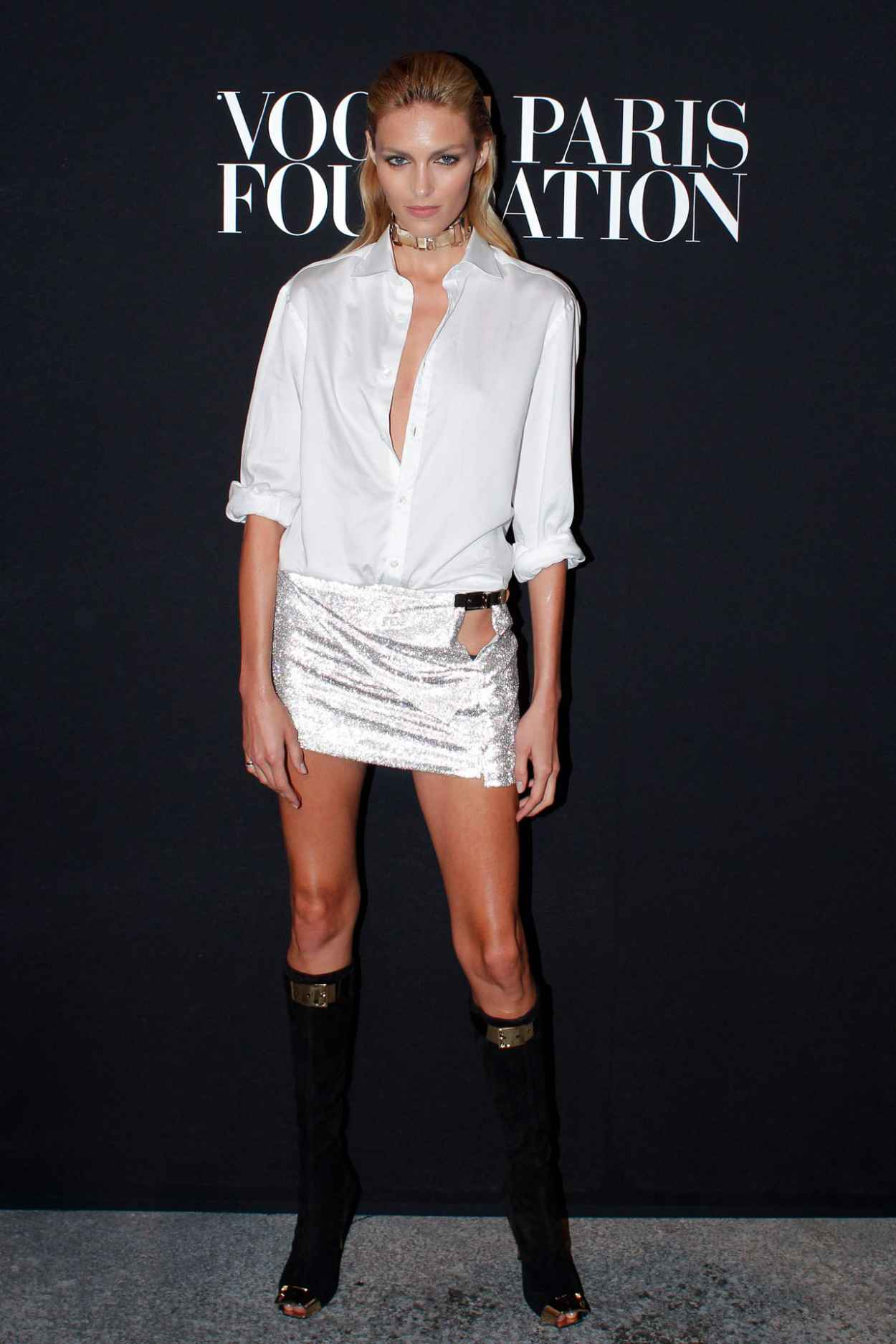 Anja Rubik at Vogue Foundation Gala - July 2015-1