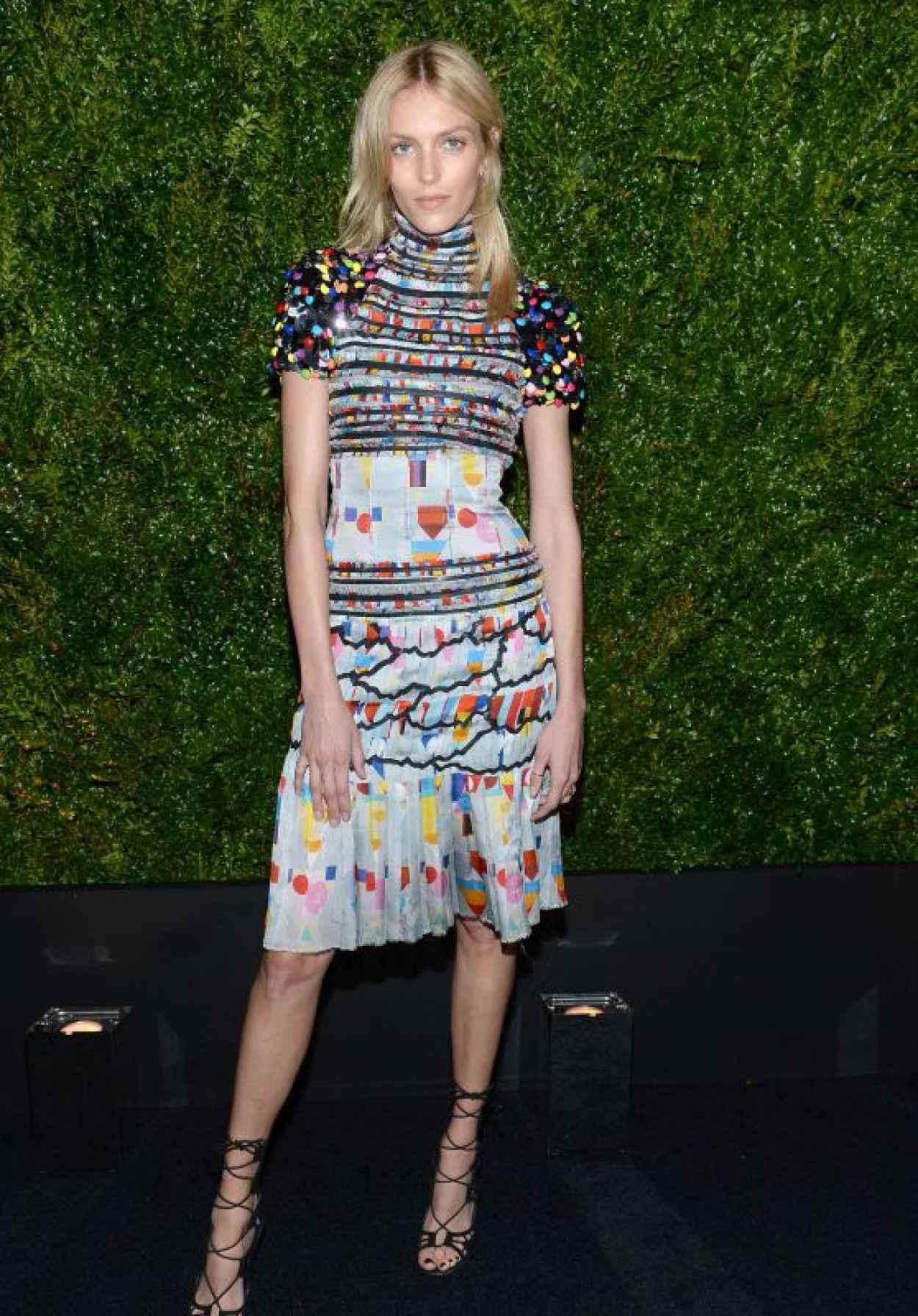 Anja Rubik - Chanel Dinner during the 2015 Tribeca Film Festival-1