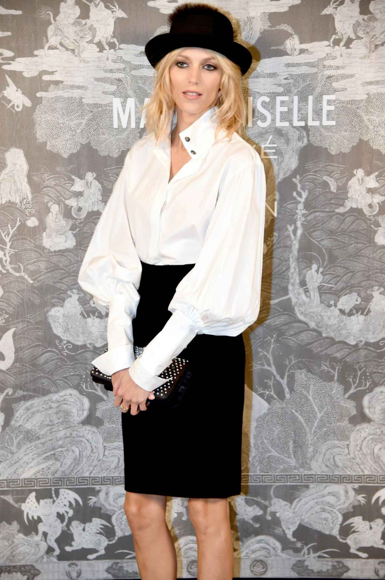 Anja Rubik - Chanel Exhibition Party in London, October 2015-3