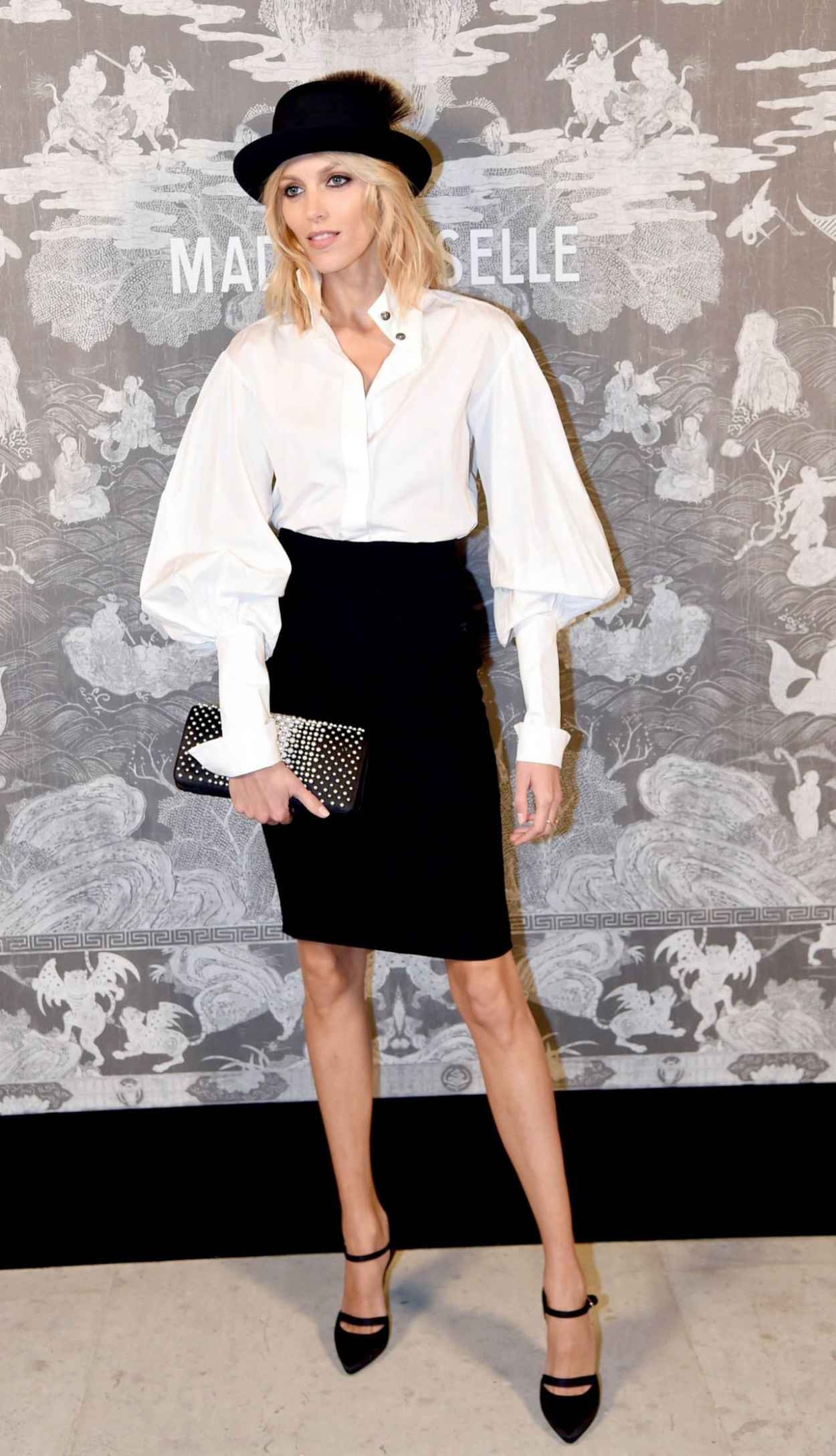 Anja Rubik - Chanel Exhibition Party in London, October 2015-4
