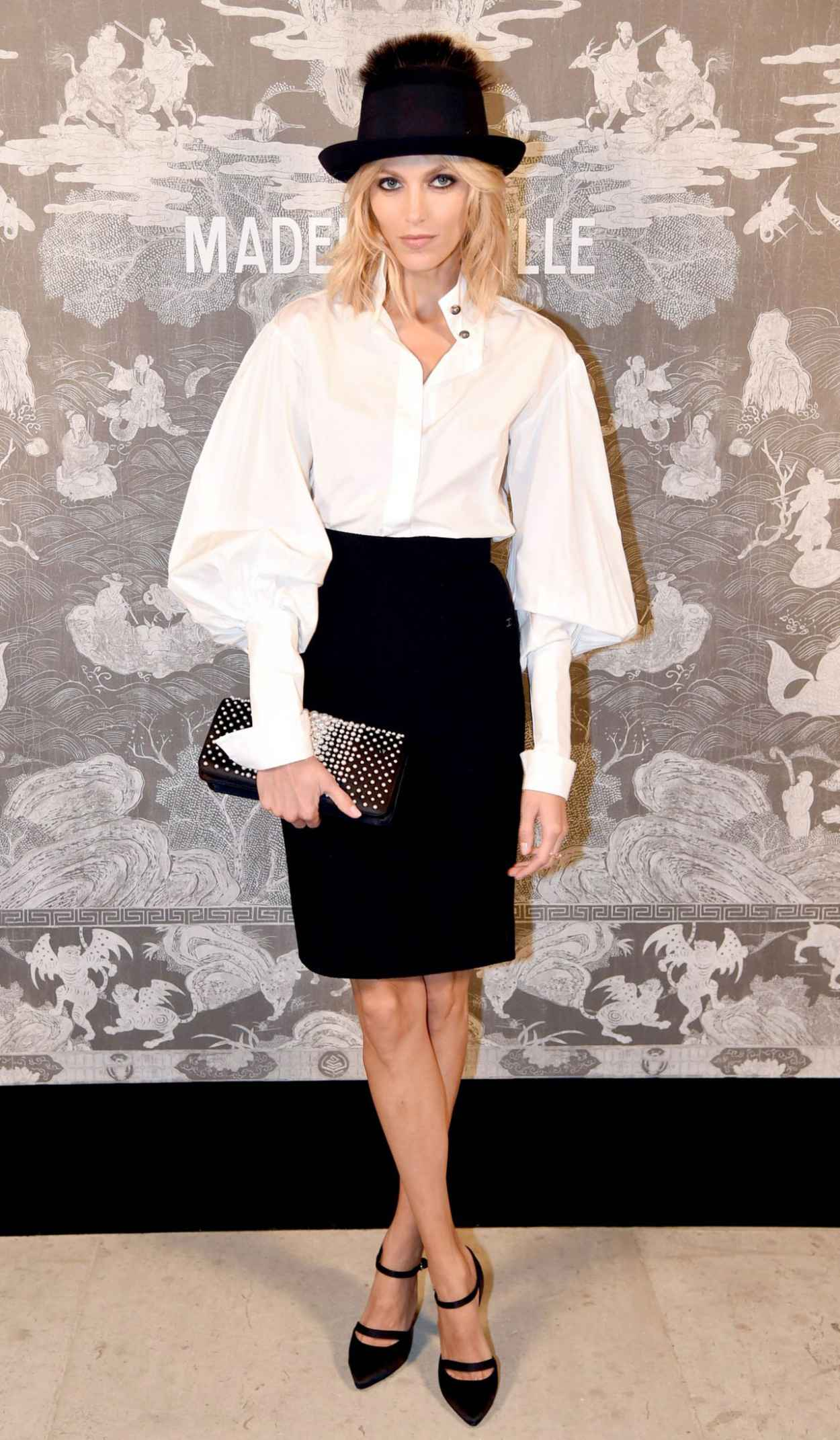 Anja Rubik - Chanel Exhibition Party in London, October 2015-5