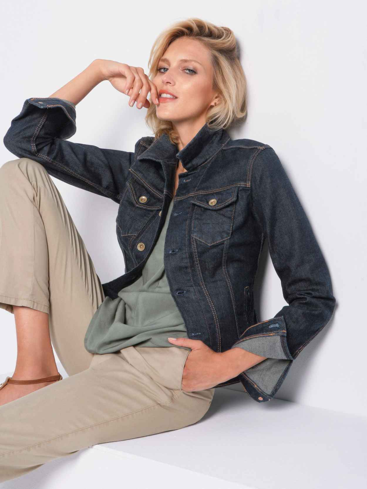 Anja Rubik - Peter Hahn Spring/Summer 2015 Collection Photos-1