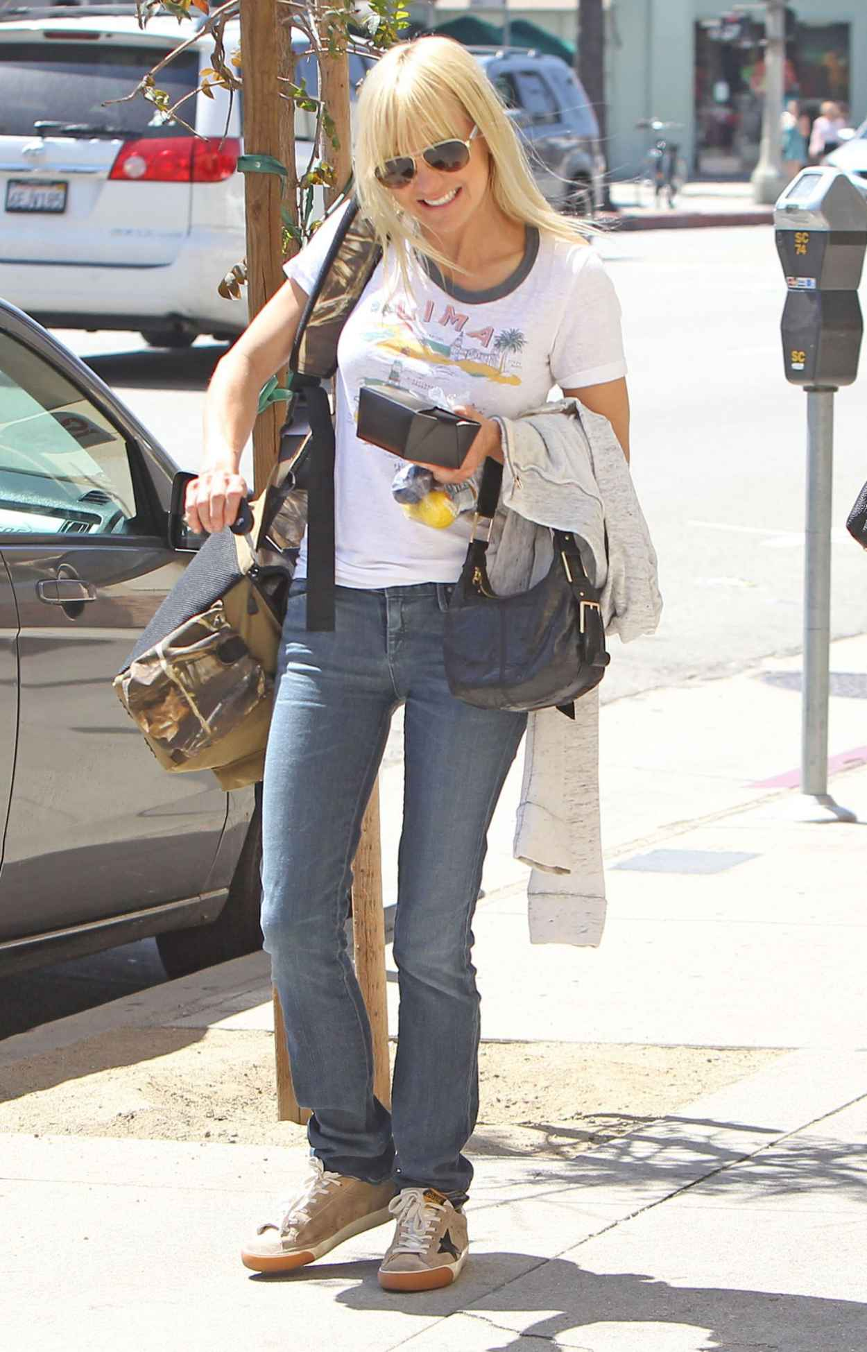 Anna Faris - Out in Los Angeles, April 2015-2