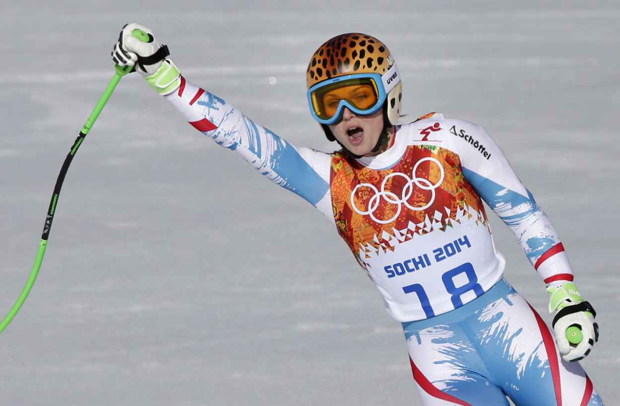 Anna Fenninger – 2015 Sochi Winter Olympics – Alpine Skiing Ladies ...