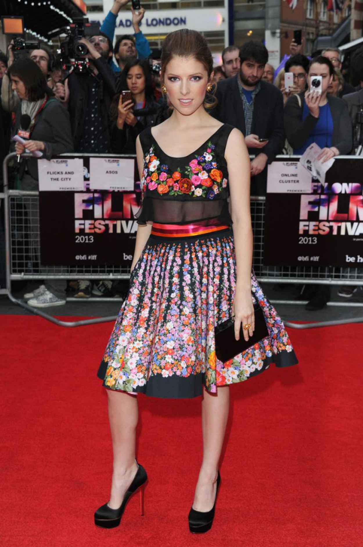 Anna Kendrick on Red Carpet - DRINKING BUDDIES Screening in London-1