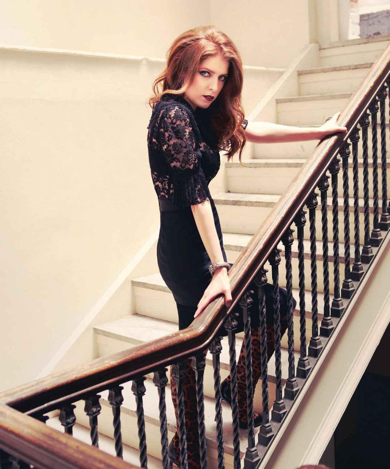 Anna Kendrick Photoshoot John Russo MODERN LUXURY Magazine