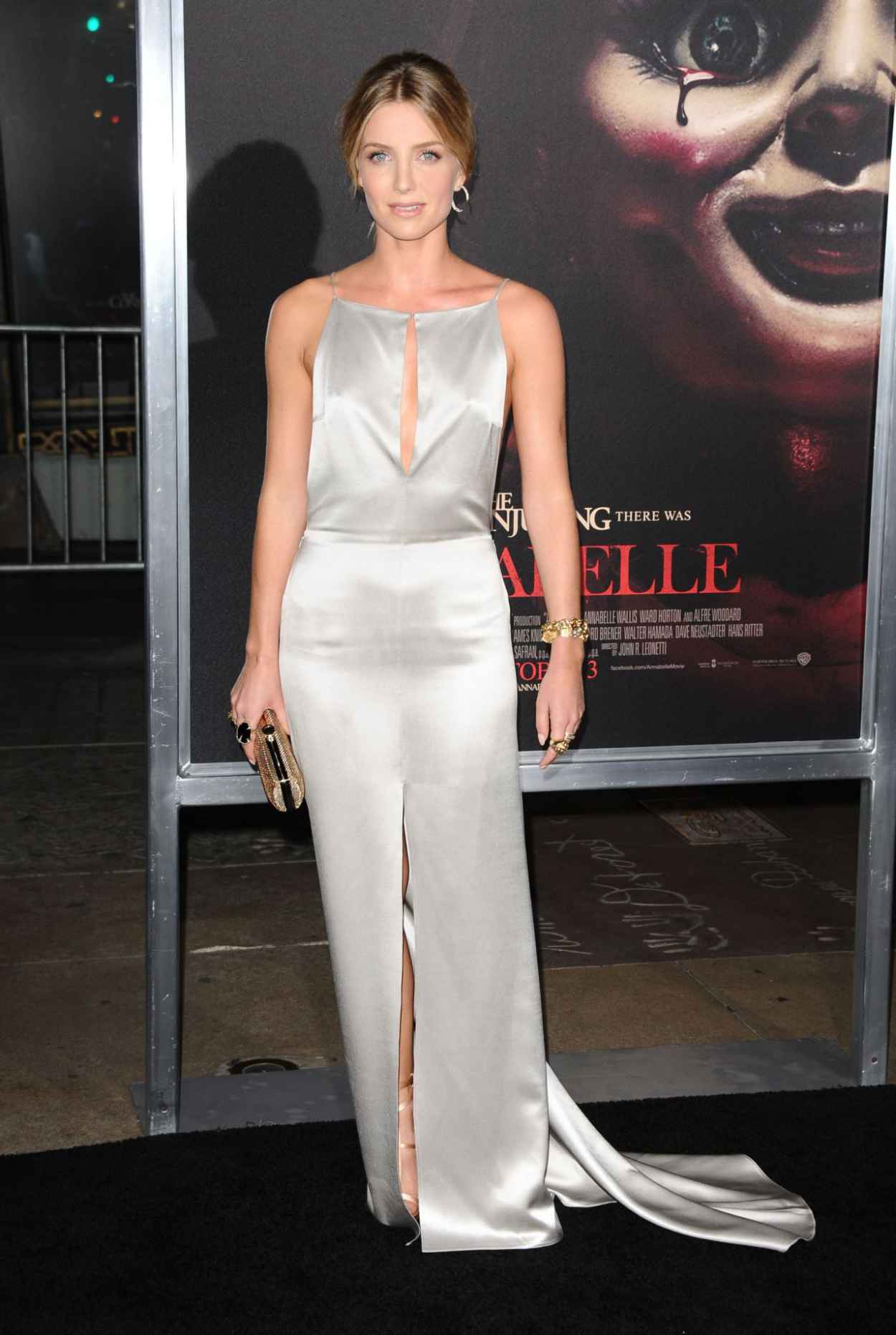 Annabelle Wallis - Annabelle Screening in Hollywood-1
