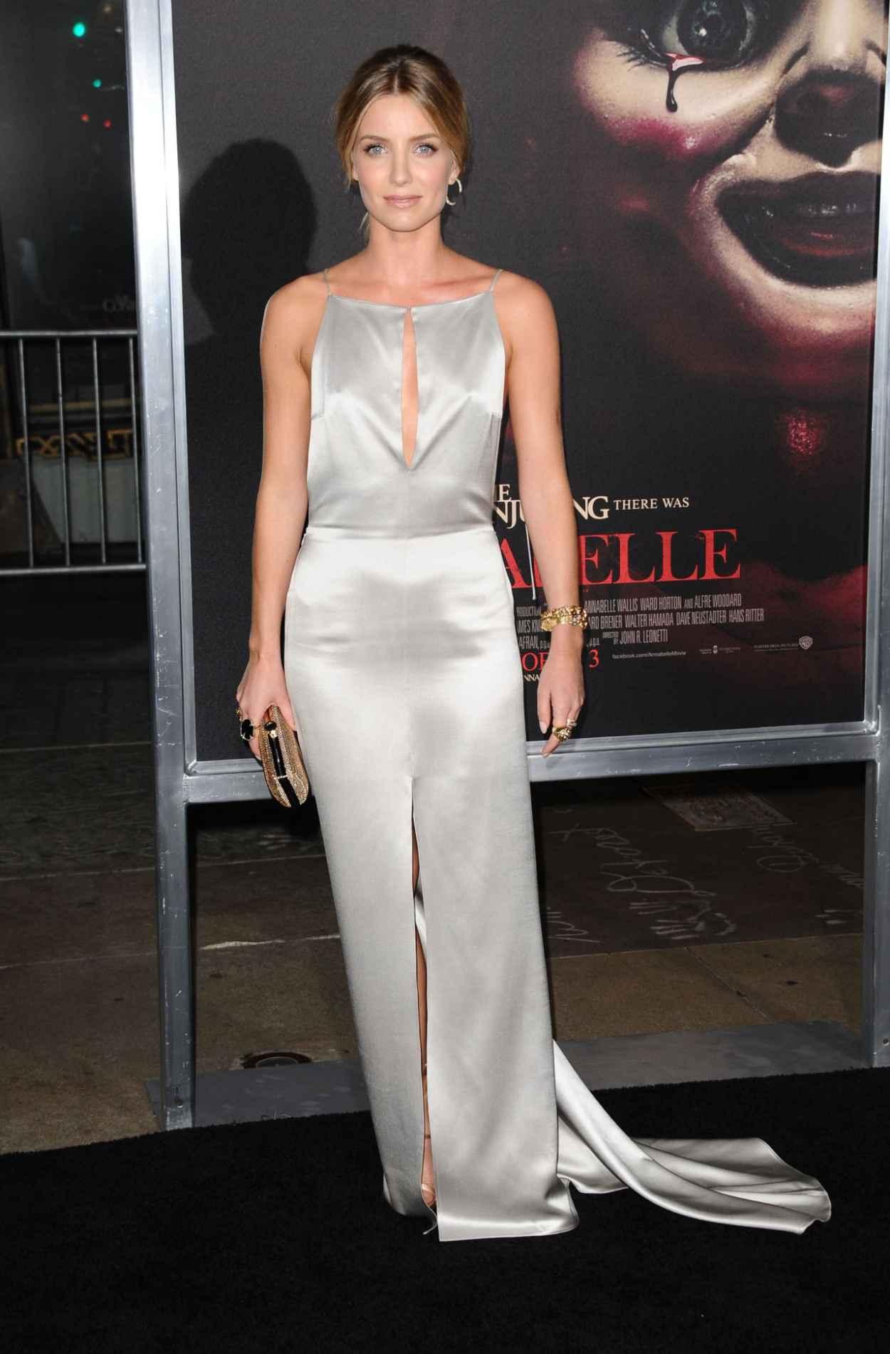 Annabelle Wallis - Annabelle Screening in Hollywood-2
