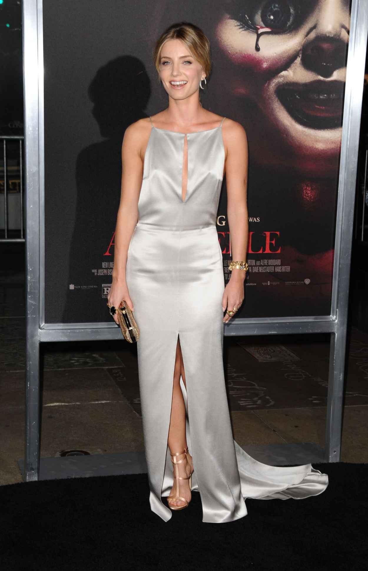 Annabelle Wallis - Annabelle Screening in Hollywood-3