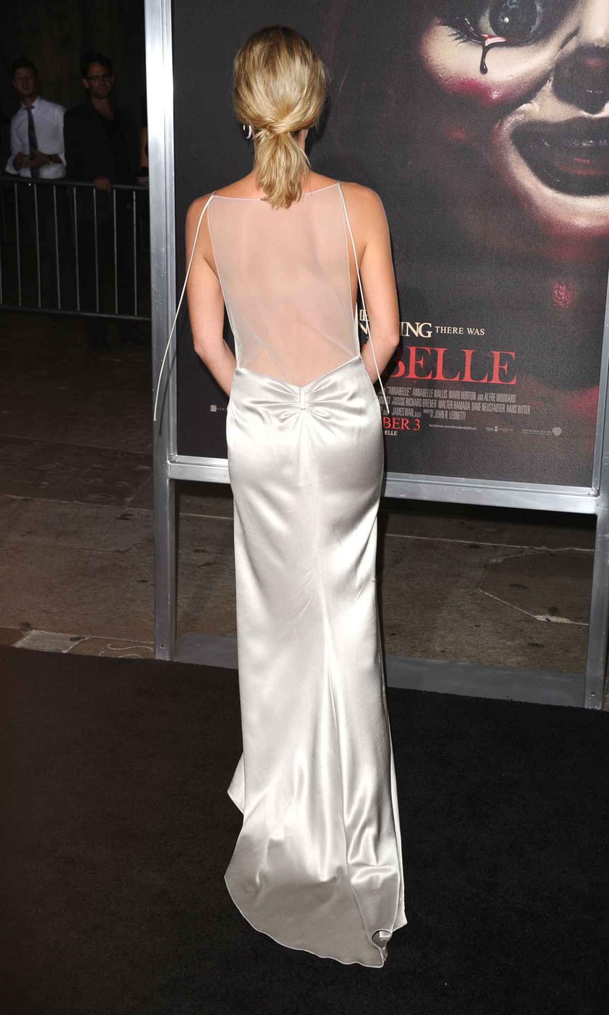Annabelle Wallis - Annabelle Screening in Hollywood-4