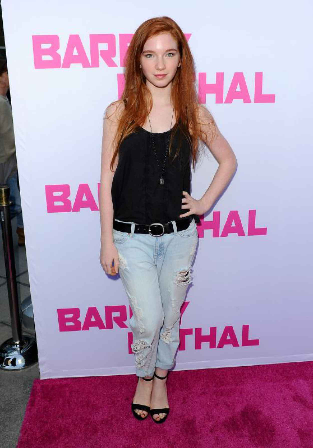 Annalise Basso - Barely Lethal Premiere in Los Angeles-1