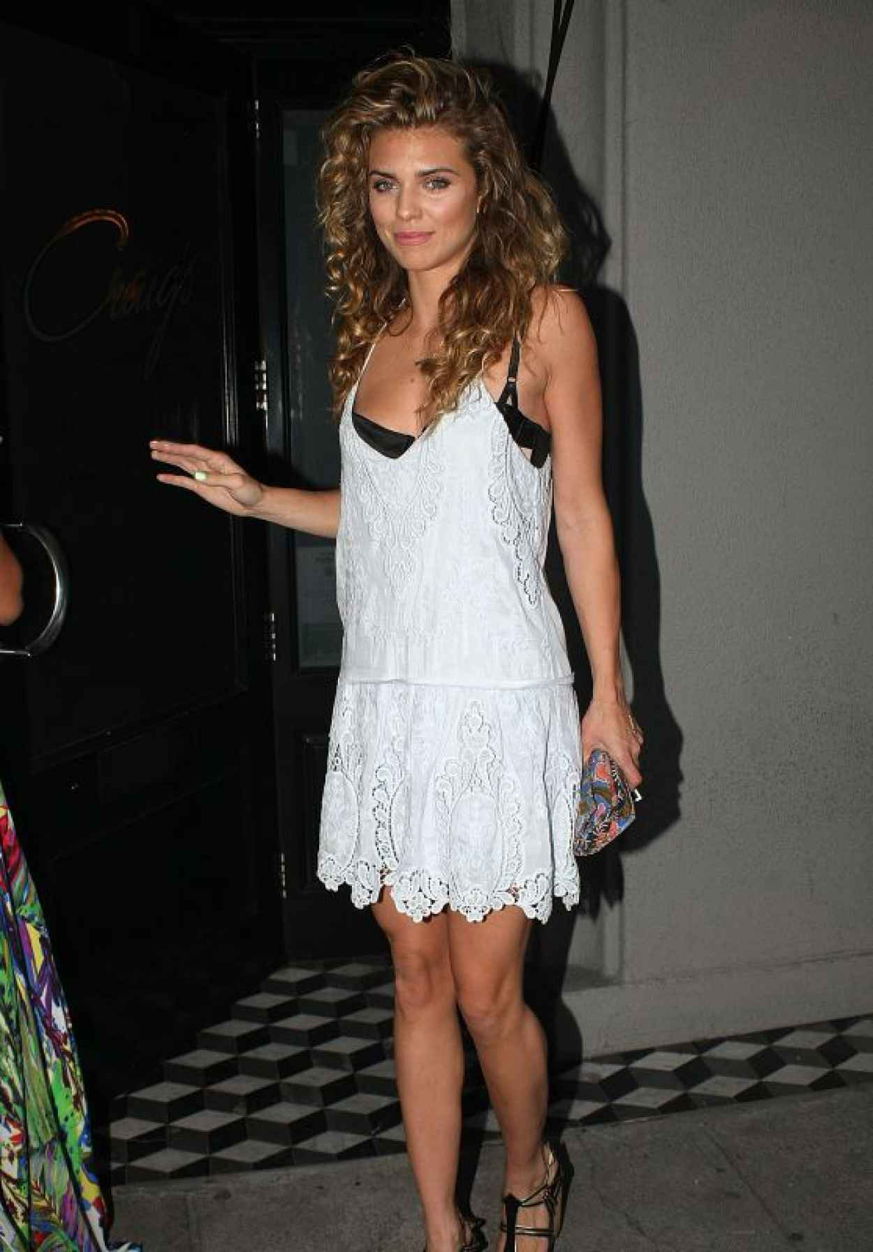 AnnaLynne McCord Summer Style - Out for Dinner in Los Angeles, July 2015-1