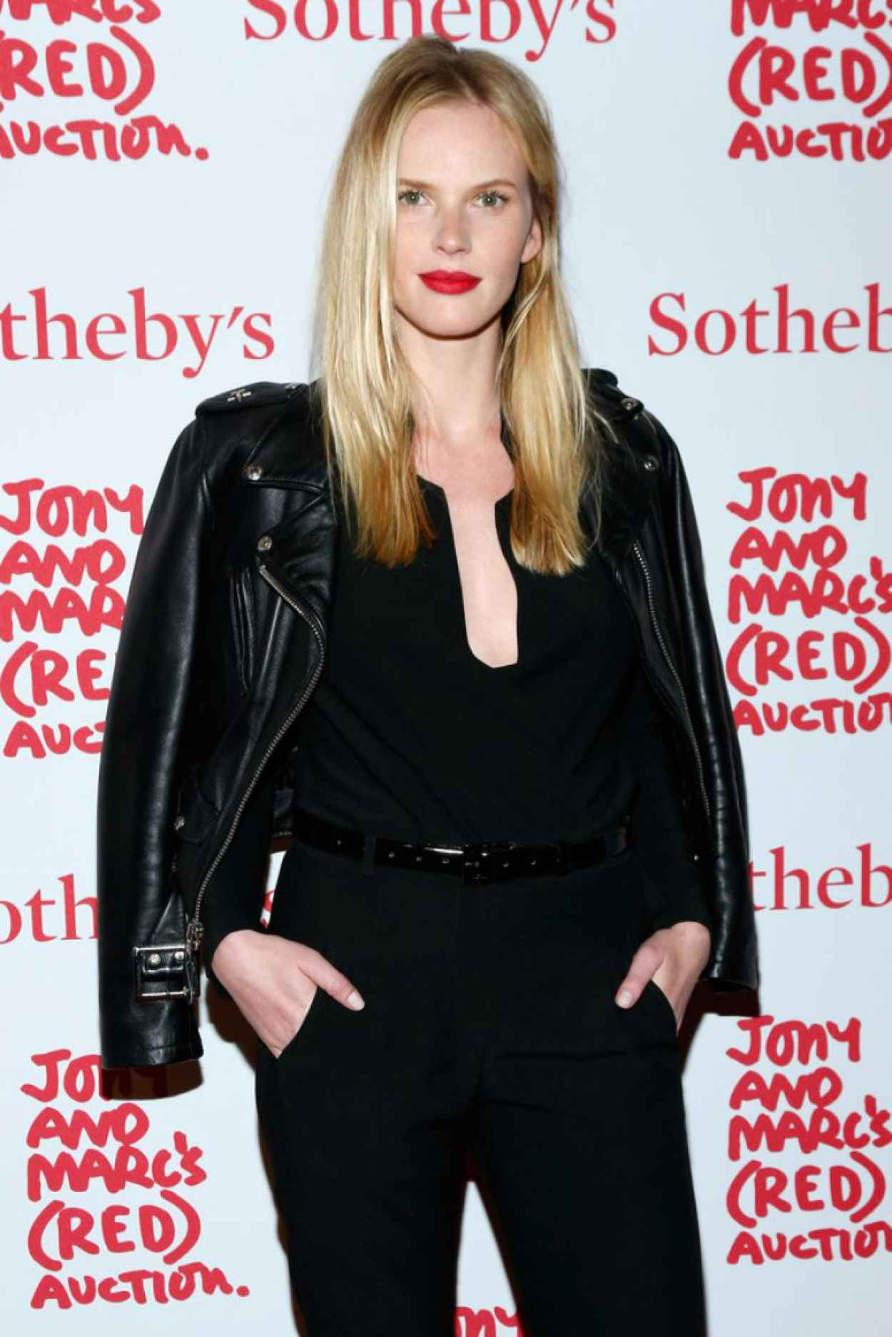 Anne Vyalitsyna Attends Jony & Marcs (RED) Auction in New York City, November 2015-1