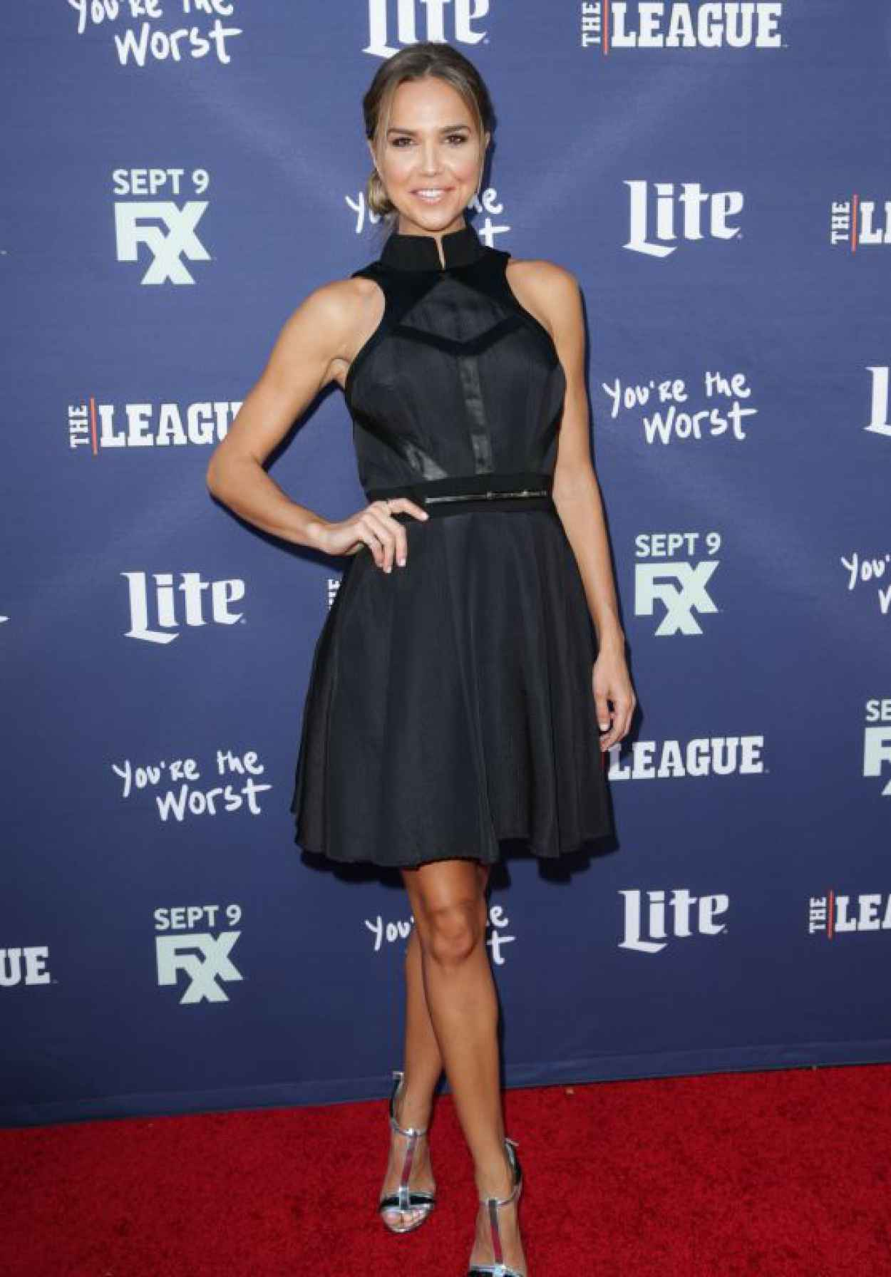 Arielle Kebbel - FXXs The League Final Season and Youre The Worst 2nd Season Premiere in Westwood-1
