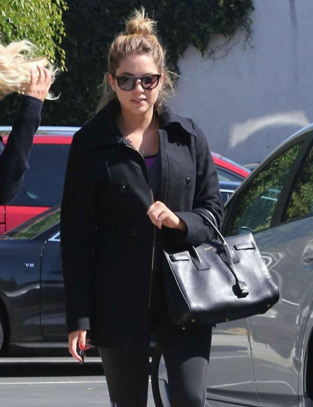 Ashley Benson - Out For Lunch at La Conversation in West Hollywood-1