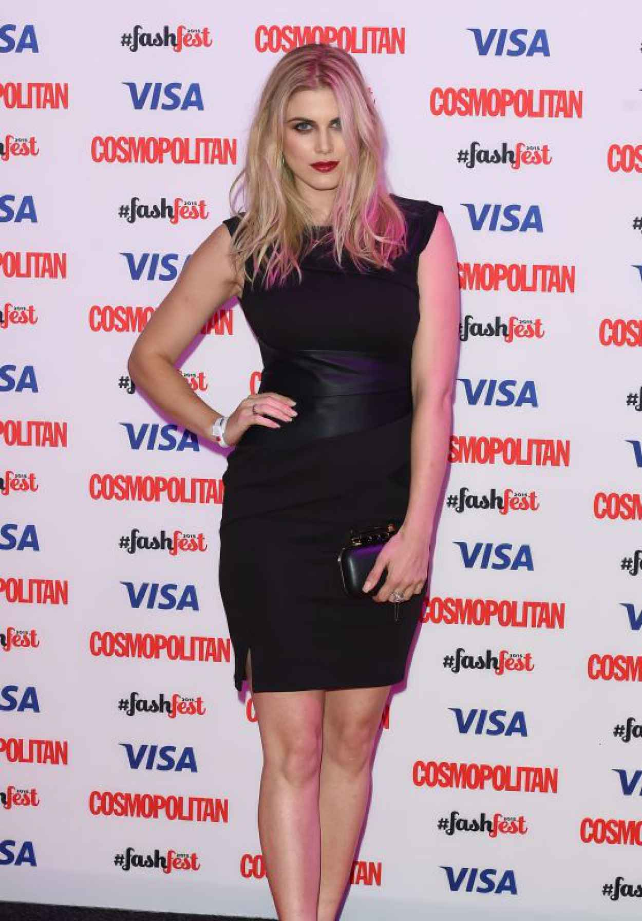 Ashley James - 2015 Cosmopolitan FashFest in London-1