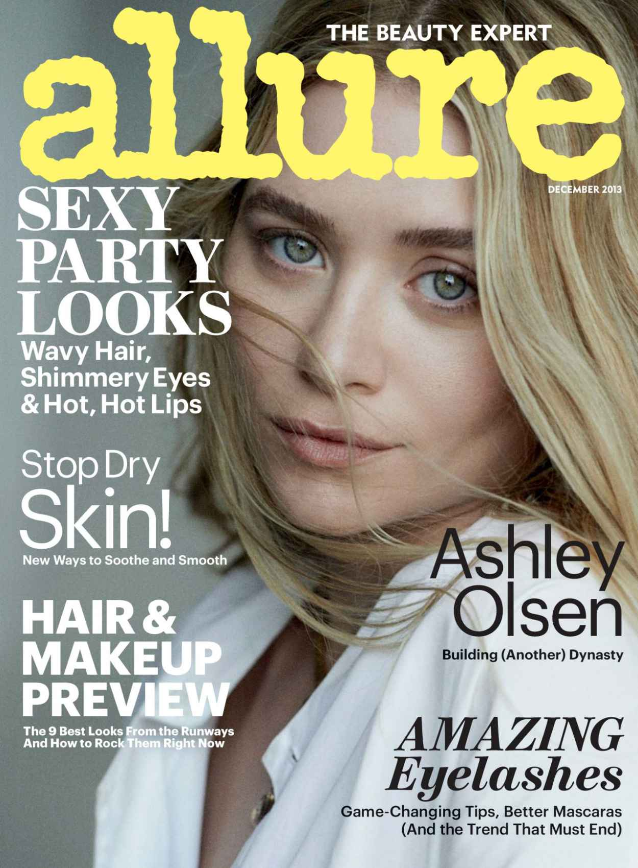 Ashley Olsen - ALLURE Magazine - December 2015 Issue-1