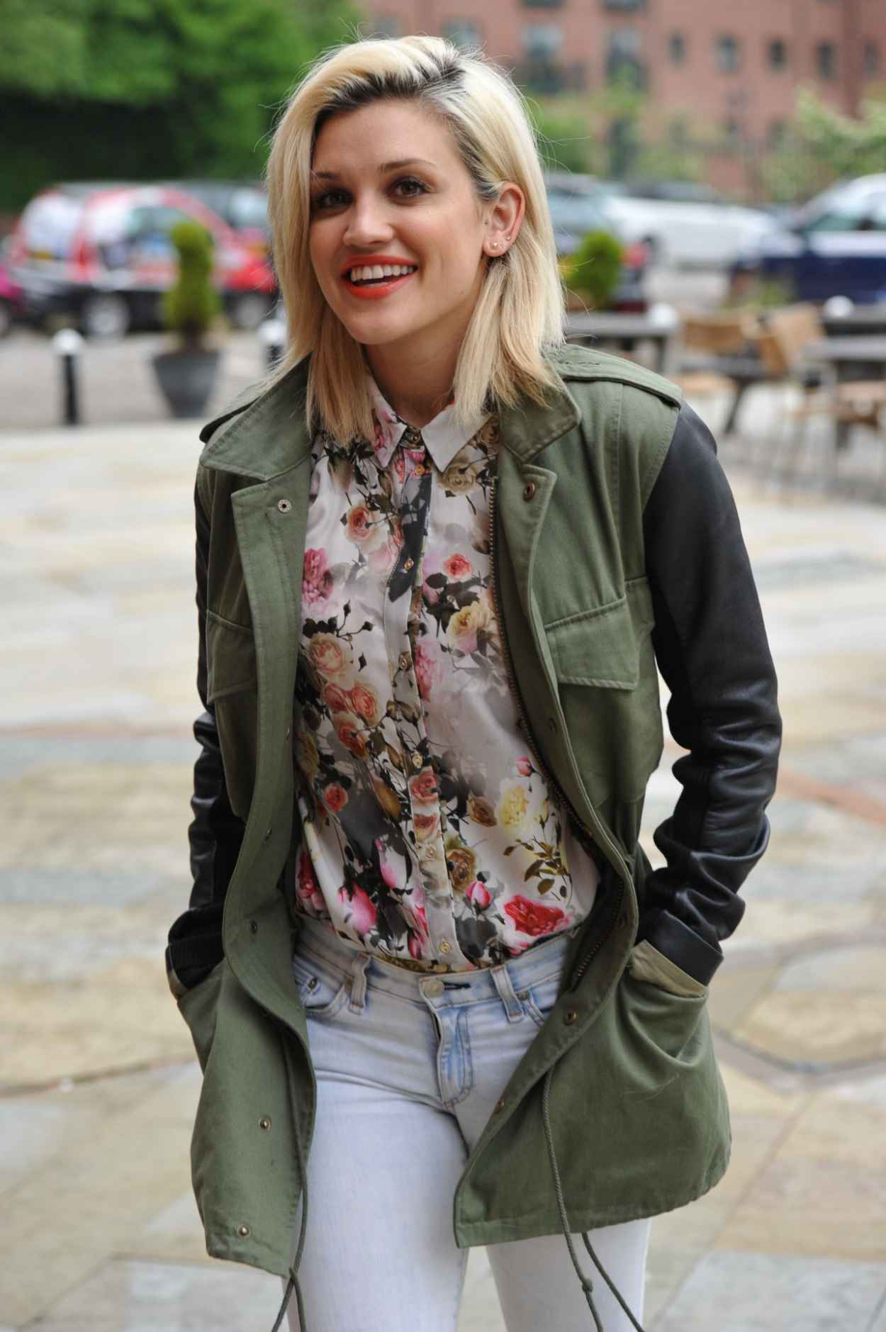 Ashley Roberts - Key 103 Radio Station in Manchester - April 2015-1