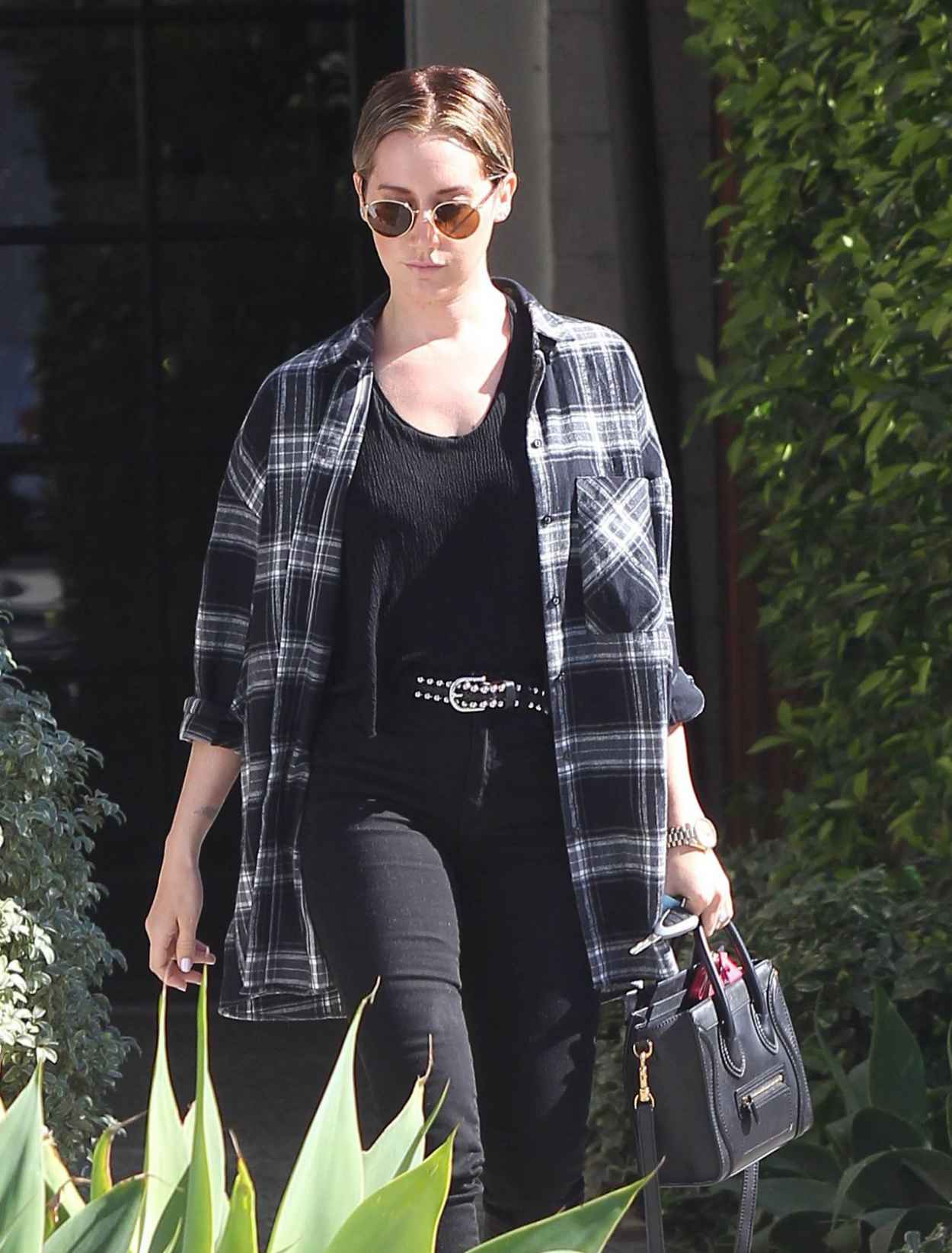 Ashley Tisdale Casual Style – Out in Los Angeles, February ...