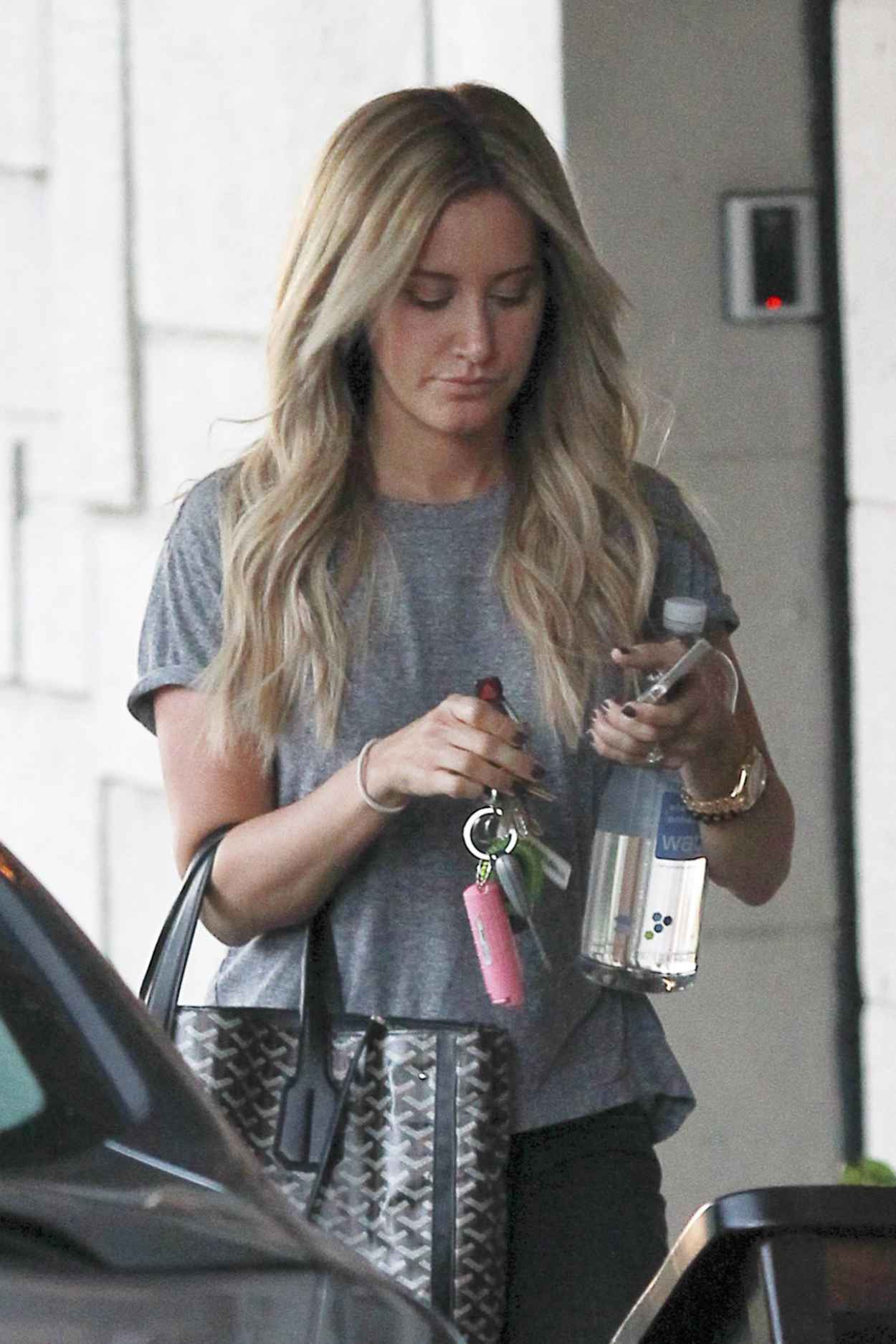 Ashley Tisdale Street Style - Out in West Hollywood - April 2015-1