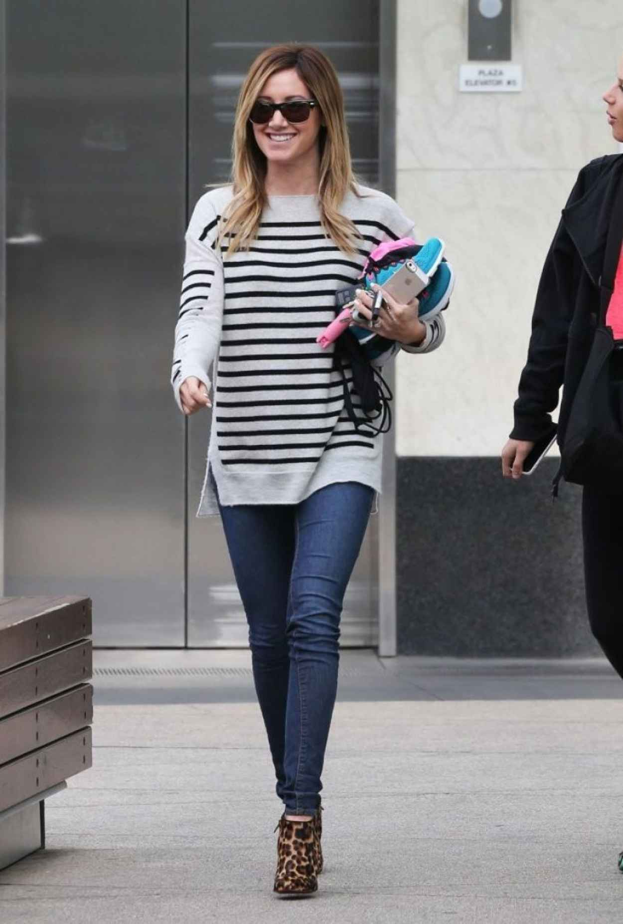 Ashley Tisdale Street Style - Out in West Hollywood - February 2015-1