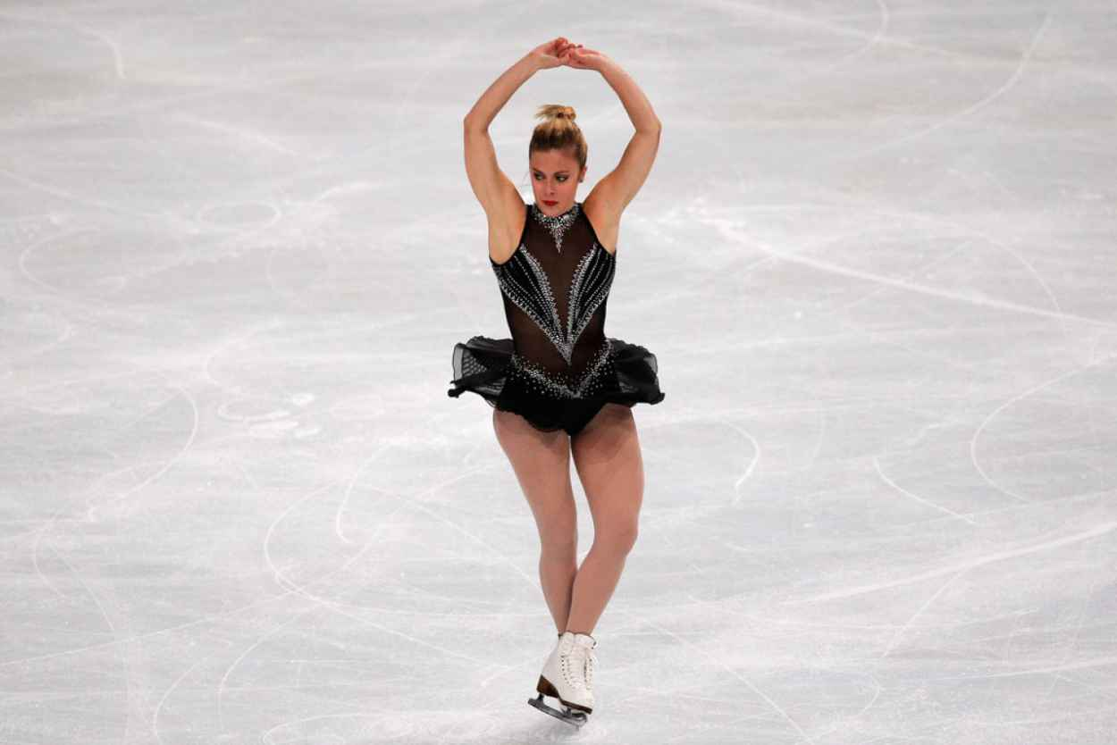 Ashley Wagner at ISU Grand Prix of Figure Skating in Paris - November 2015-1